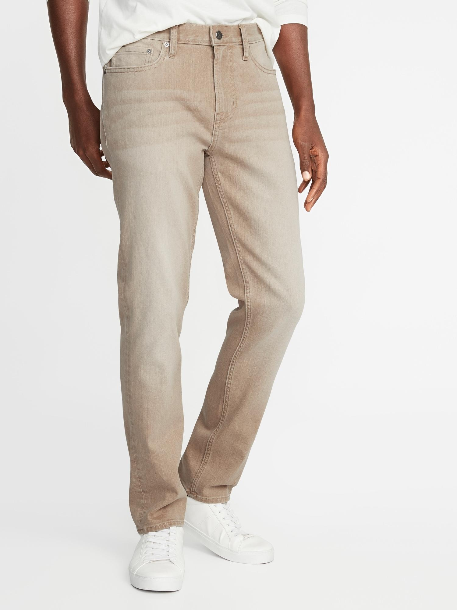 Lyst - Old Navy Slim Built-in Flex Khaki-wash Jeans in ...