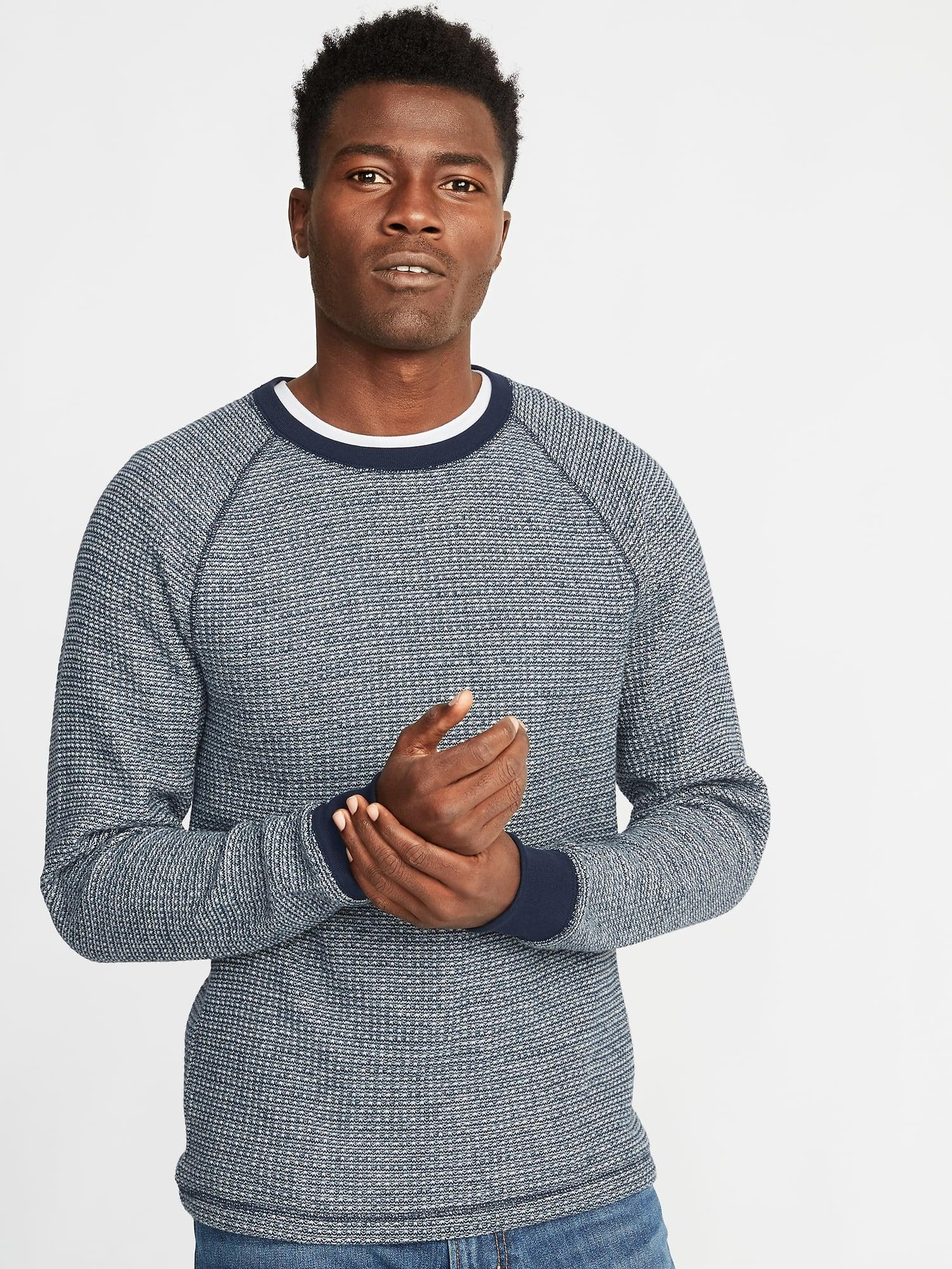 232a483d Old Navy Chunky-textured Thermal-knit Tee in Blue for Men - Lyst