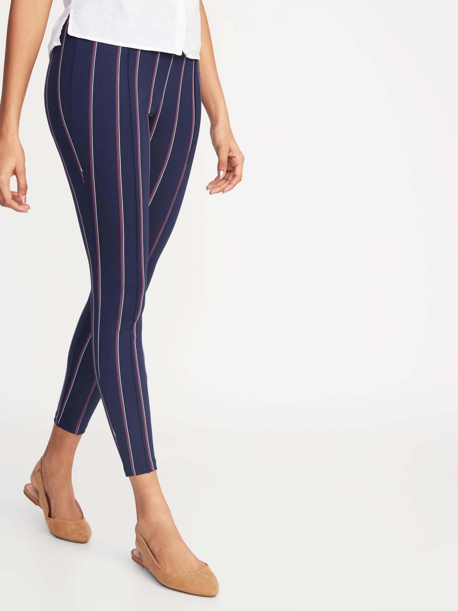ac2ac1a12b467 Lyst - Old Navy High-rise Ponte-knit Stevie Pants in Blue
