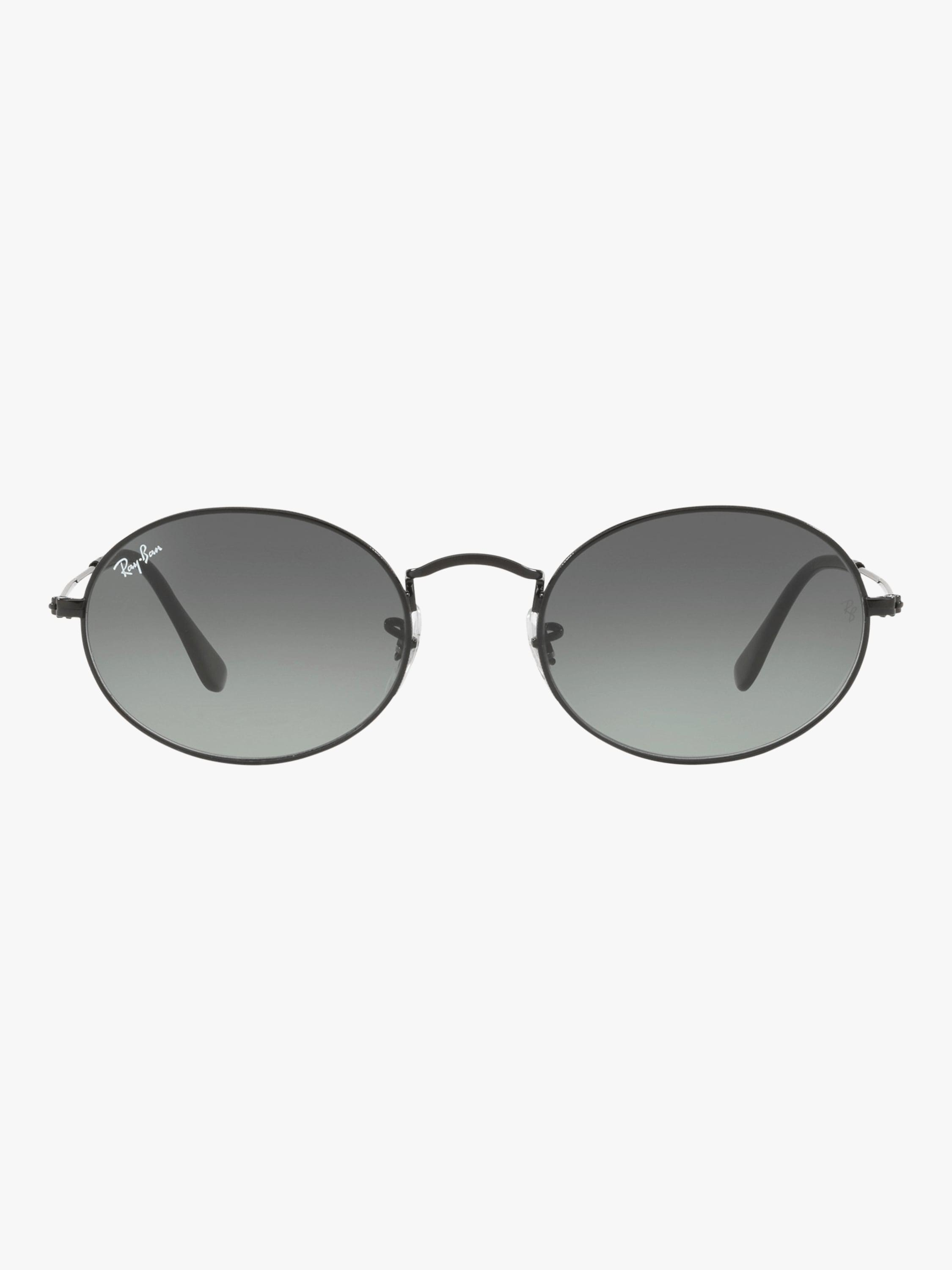 0c9ca774b95 Lyst - Ray-Ban Oval Flat Lenses in Gray