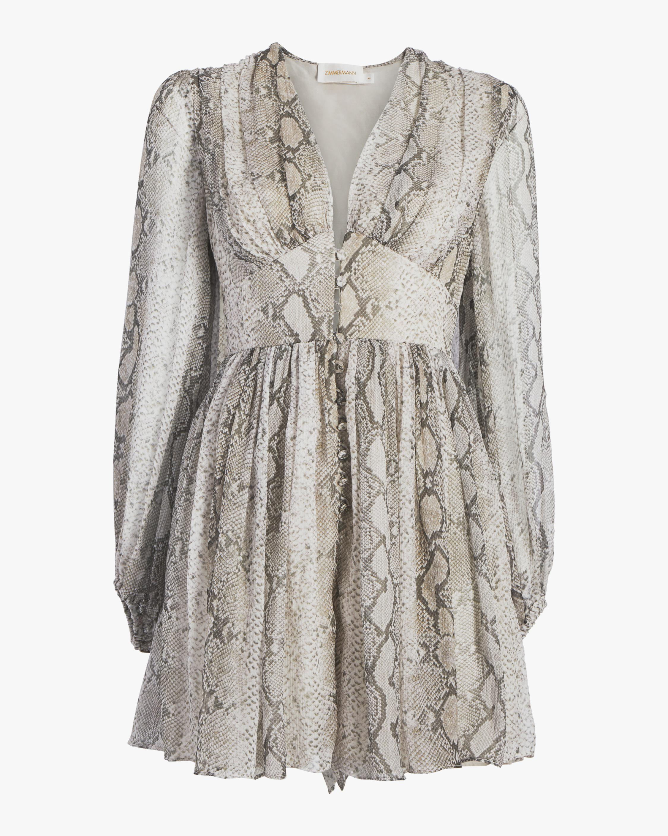 dc597e9cf2 Zimmermann - Multicolor Corsage Fluted Playsuit - Lyst. View fullscreen