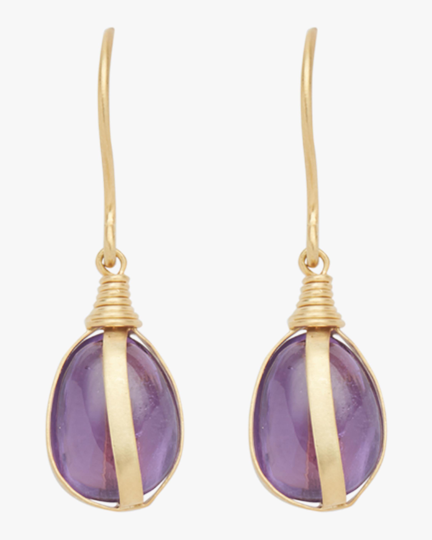 76449a895 Pippa Small Parcel Wrap Earrings - Lyst