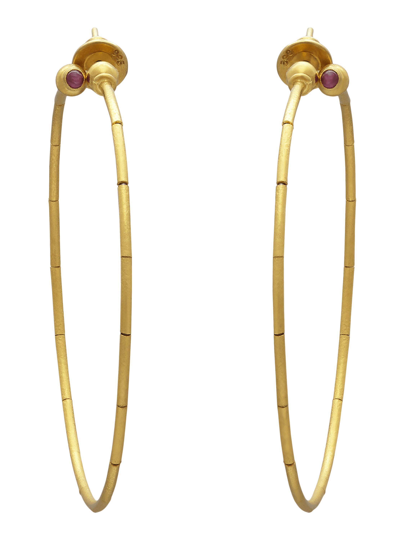 Gurhan Delicate Rain Hoop Earrings eY8o2YsT