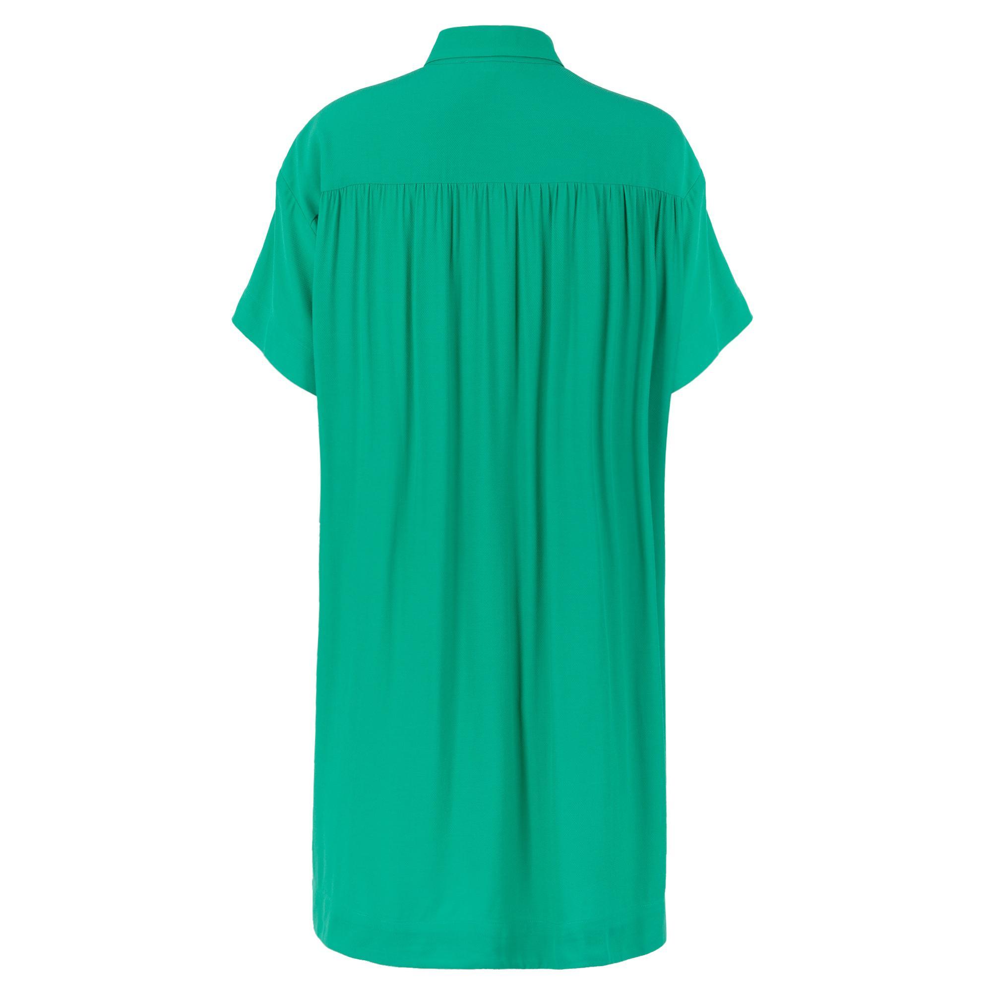 9440edc8df Oliver Bonas Life Green Shirt Dress in Green - Lyst