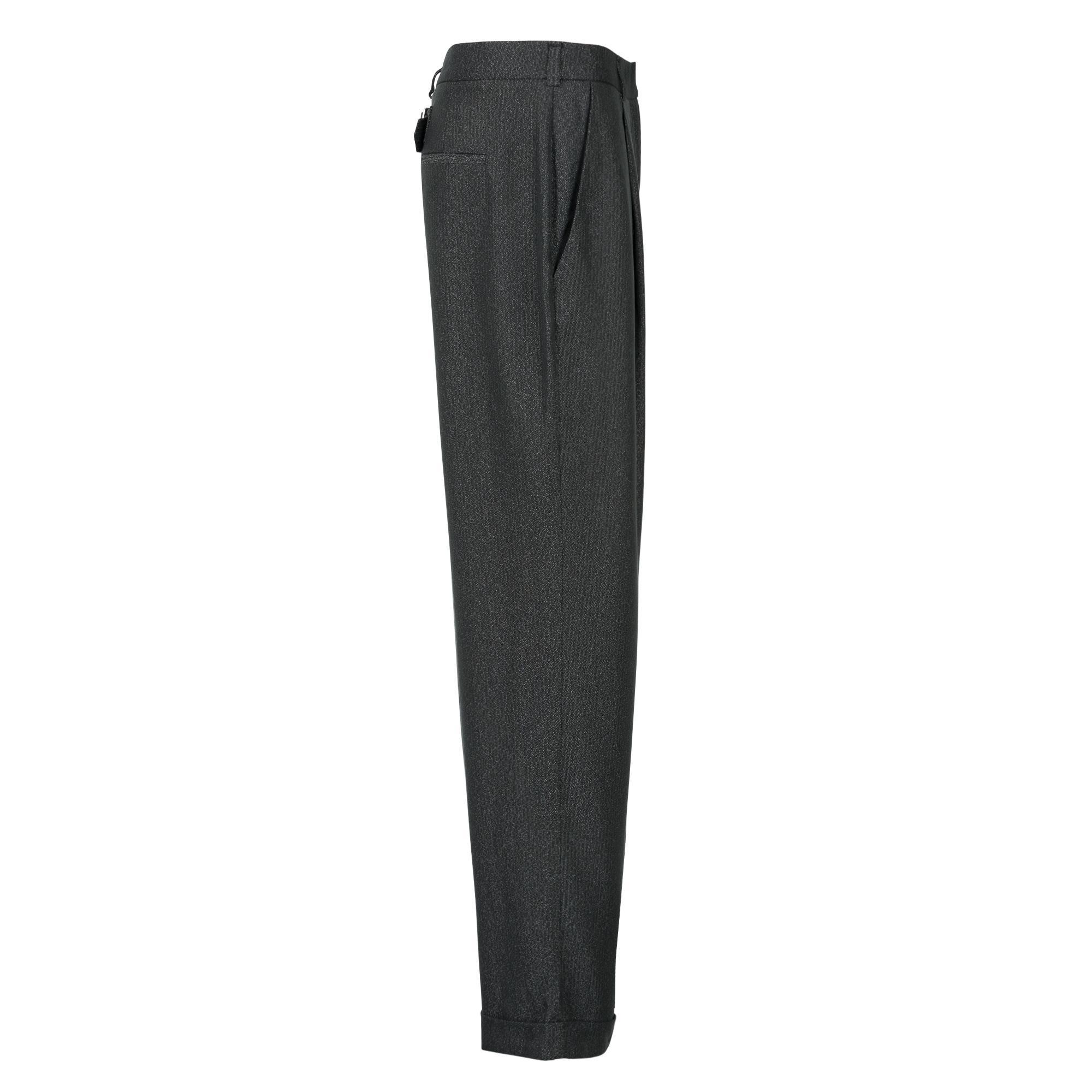Lyst - Oliver Bonas Anti Relaxed Boyfriend Trousers in Black for Men