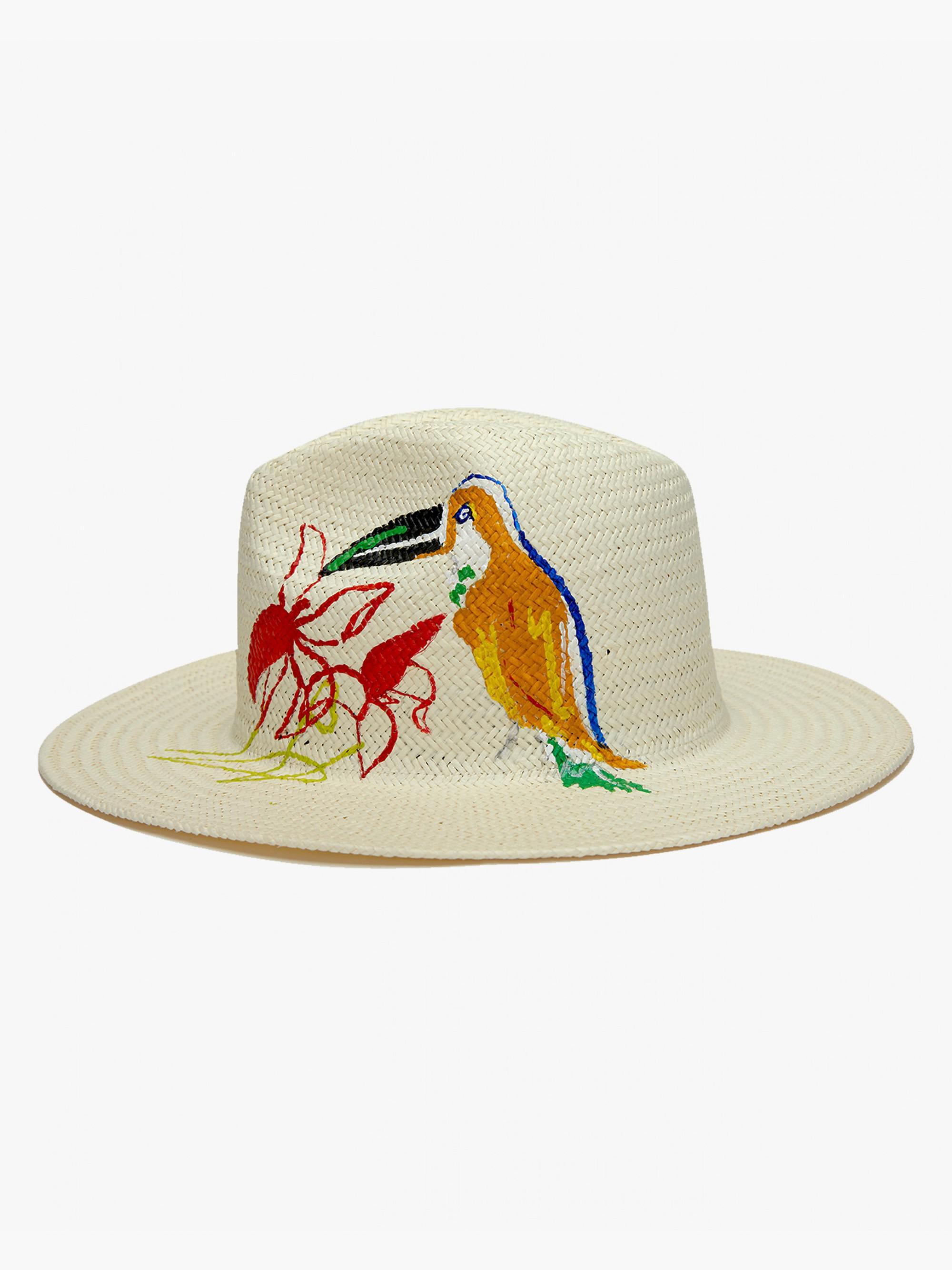 Lyst - Onia Rosa Panama Hat in White 4c729fe321ed