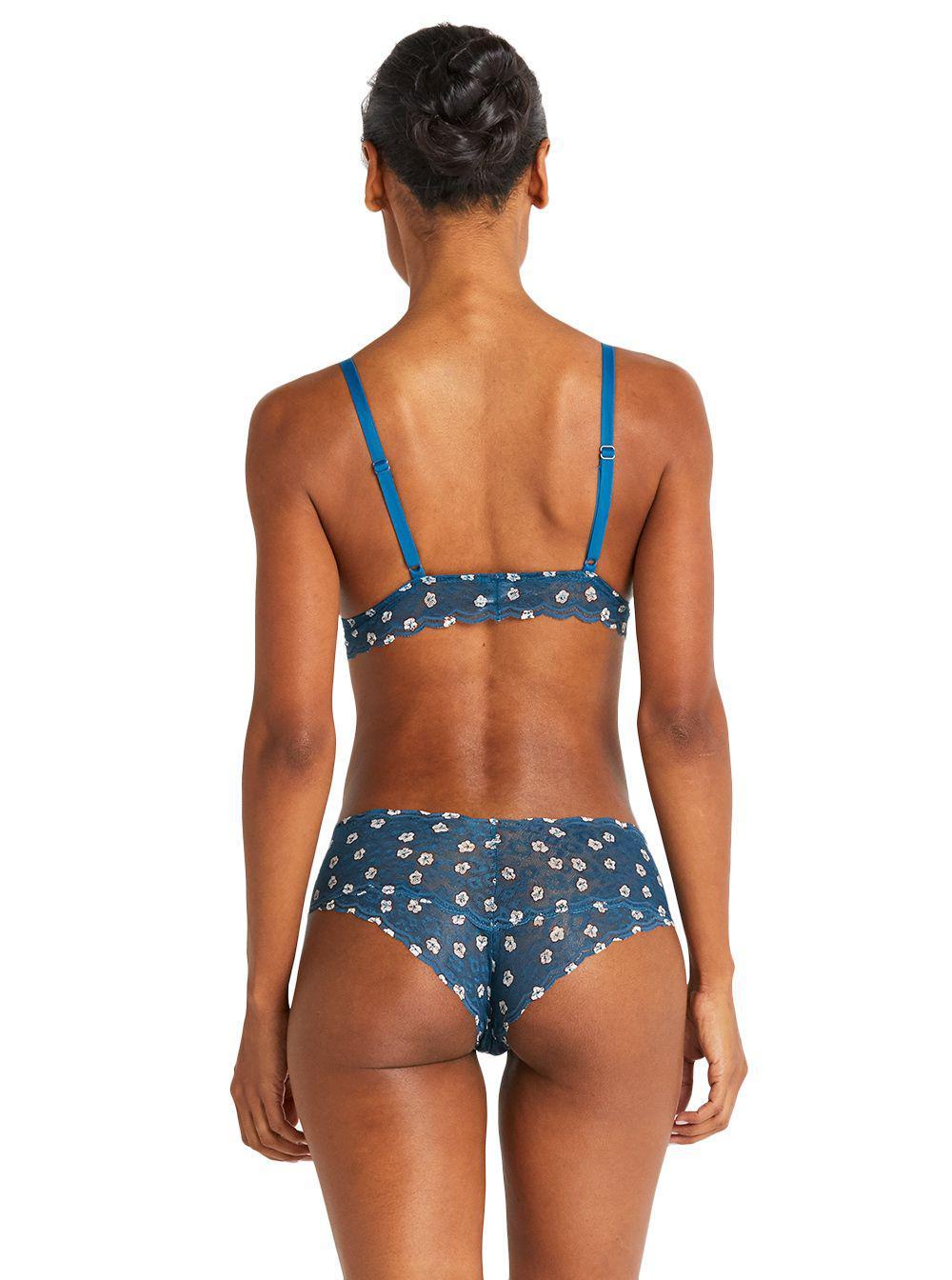 c9ec2416a01d20 Cosabella - Blue Sweet Treats Printed Bralette - Lyst. View fullscreen