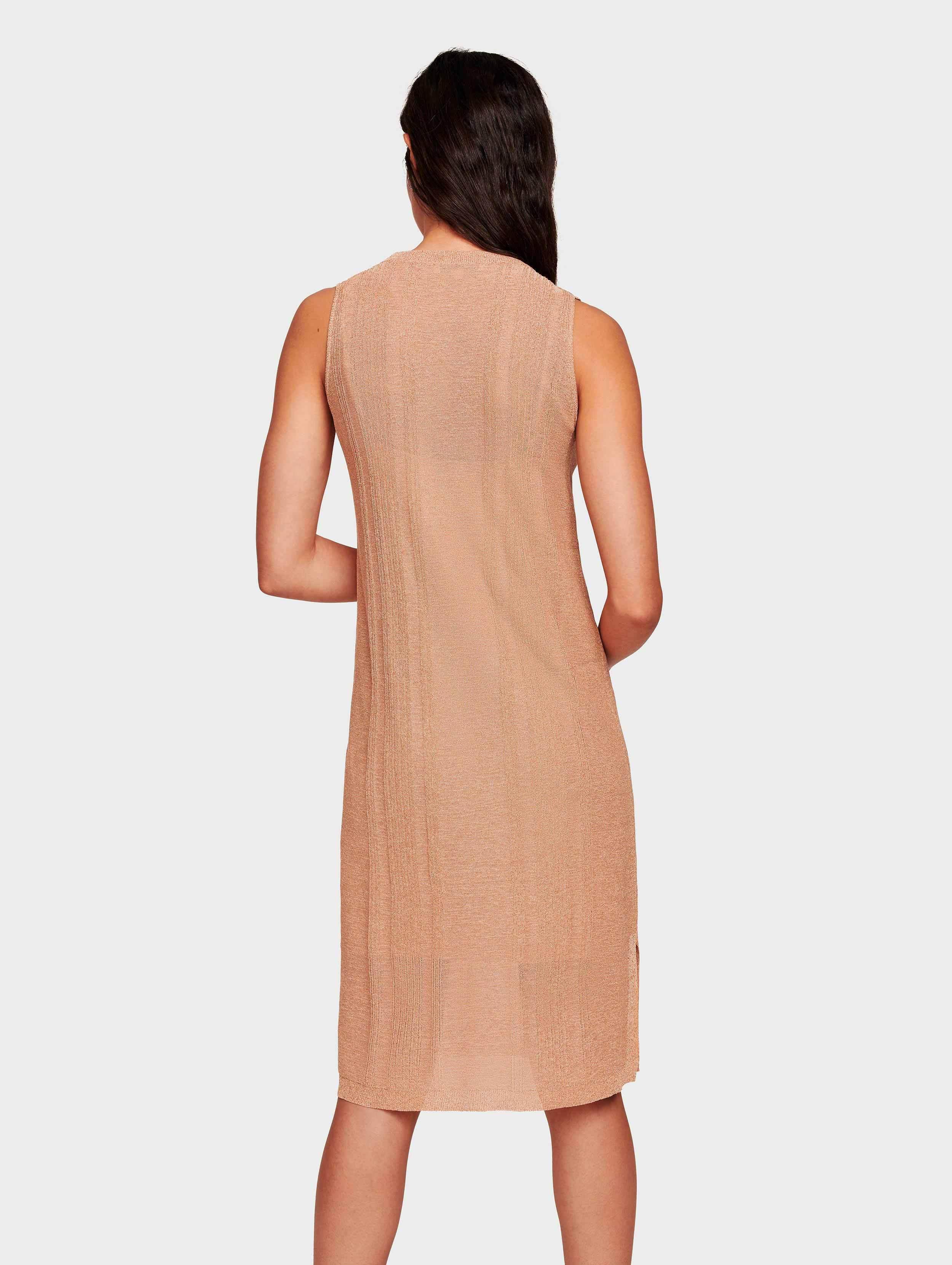 White Warren Synthetic Italian Summer Shine Tank Dress