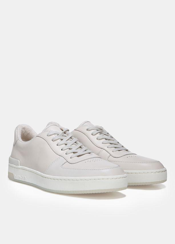 d4452d952c519 Lyst - Vince Rendel Leather Sneaker in White