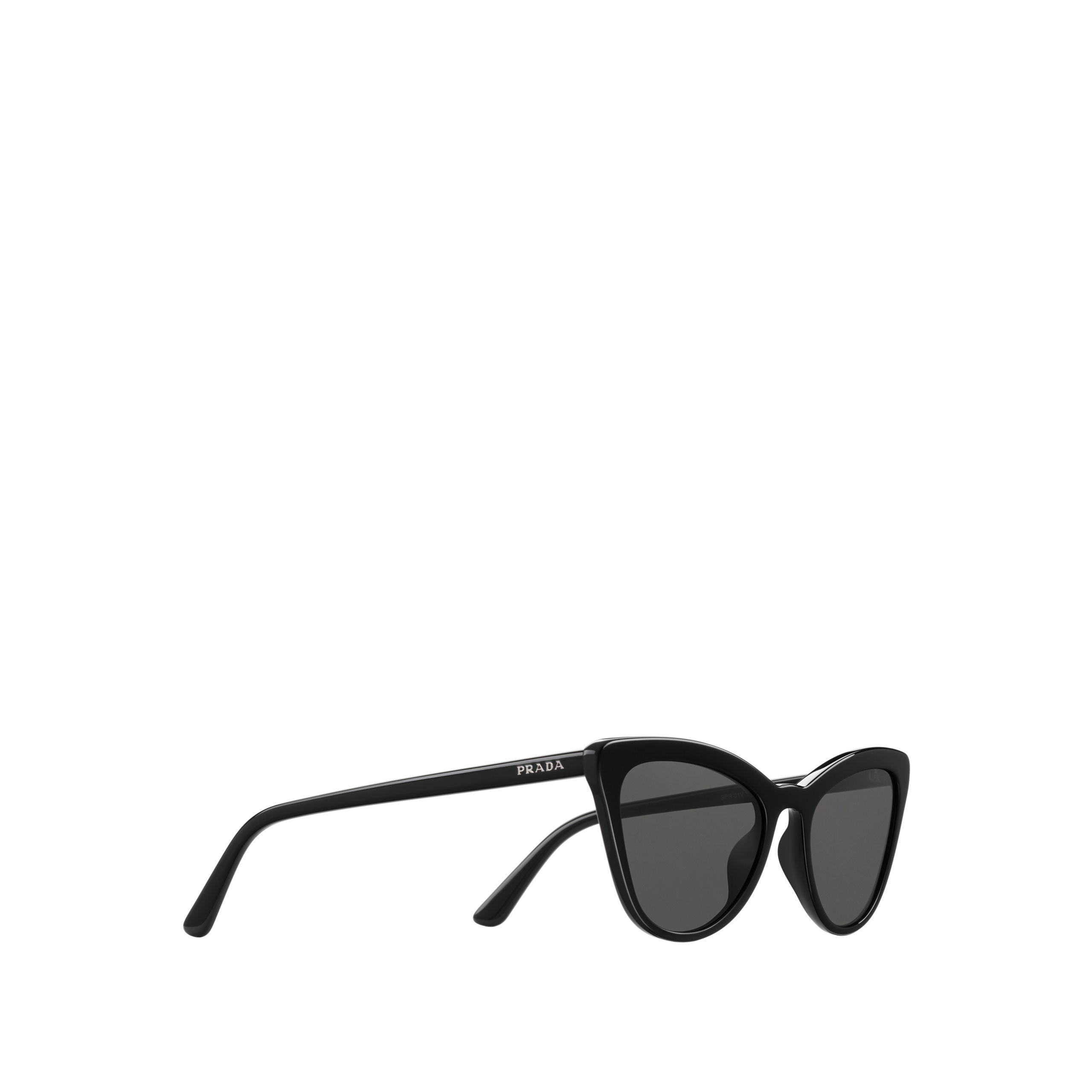 47fc7f1ab Prada - Black Ultravox Sunglasses Alternative Fit - Lyst. View fullscreen