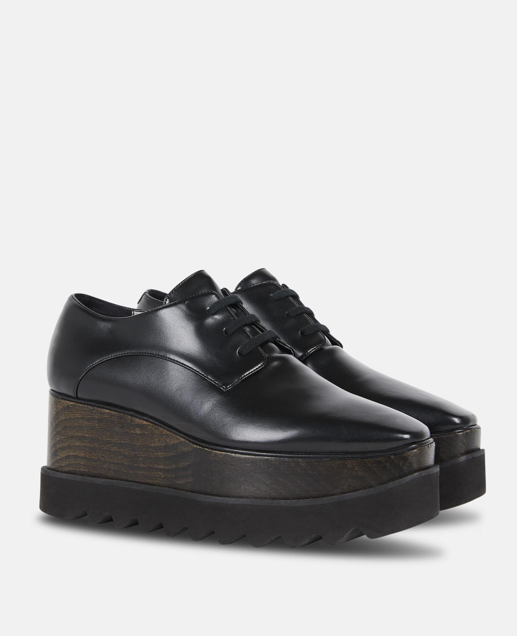 cb2126c336c Lyst - Stella McCartney All Black Elyse Shoes in Black