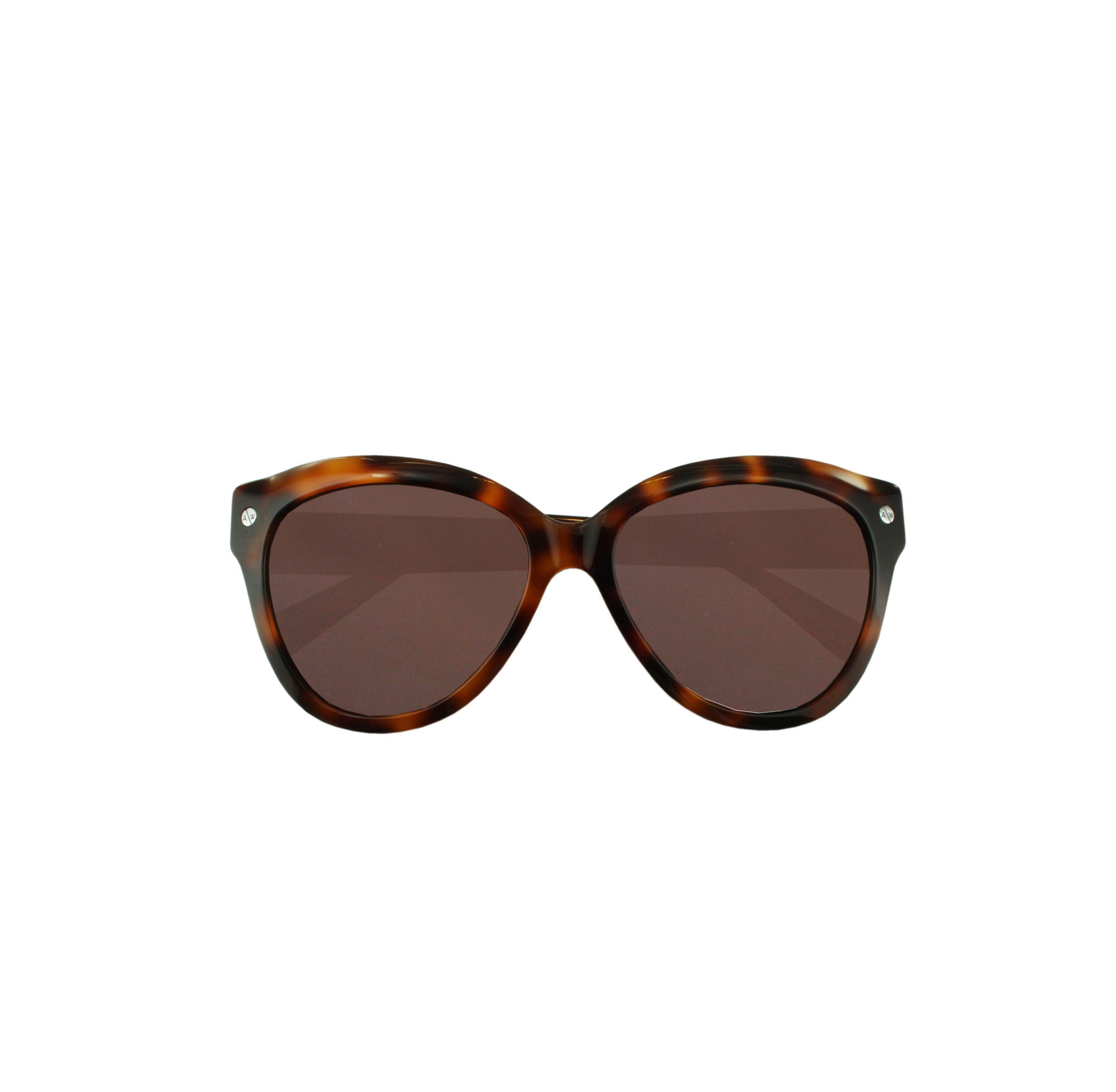 794db53060 Amanda Wakeley. Women s Brown The Chelsea Tortoiseshell Sunglasses.  166  From Orchard Mile