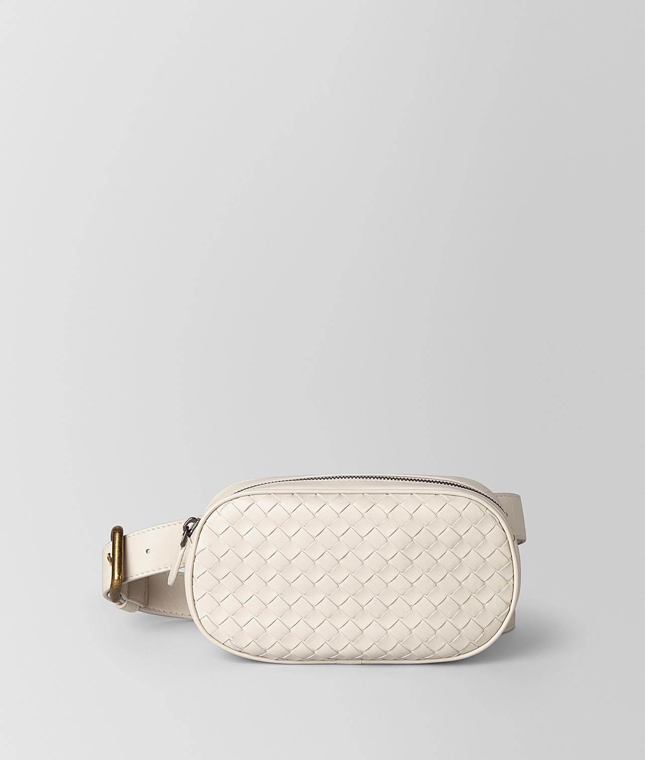 f9911120bf27 Lyst - Bottega Veneta Belt Bag in Natural