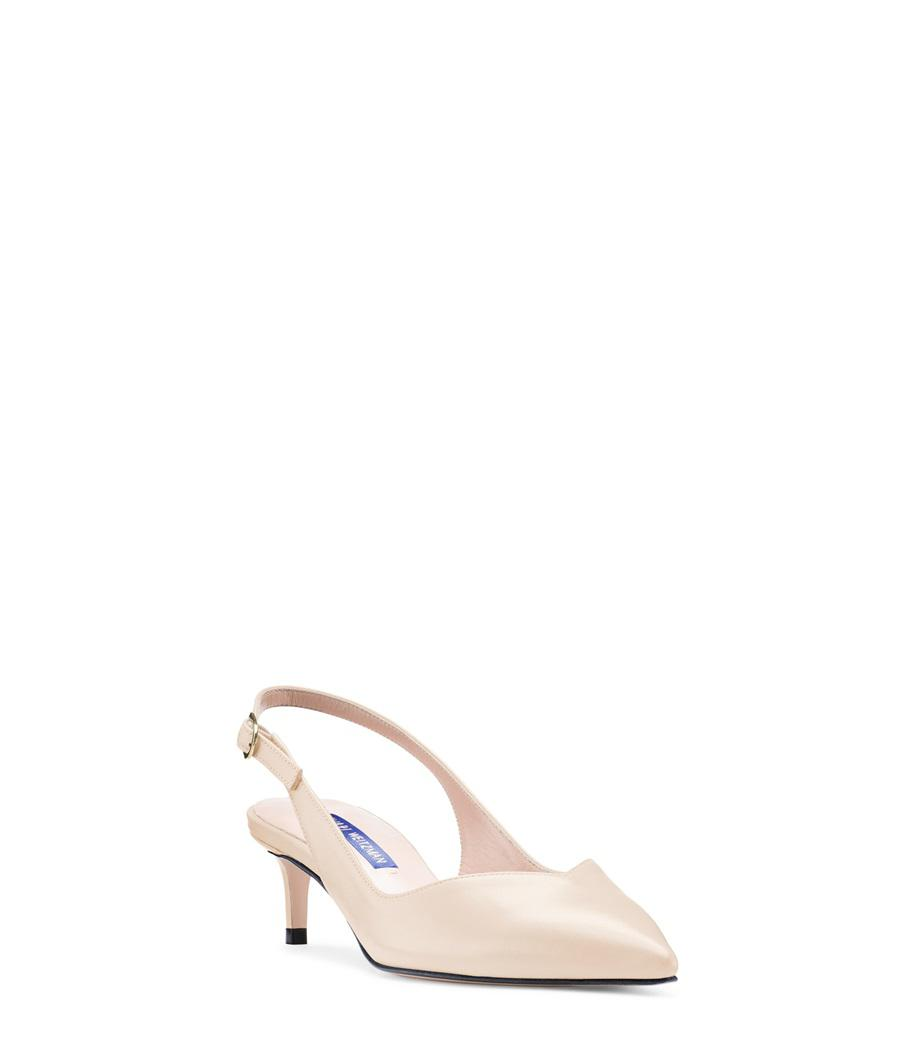 81b285670bc Stuart Weitzman - Natural The Edith Pump - Lyst. View fullscreen