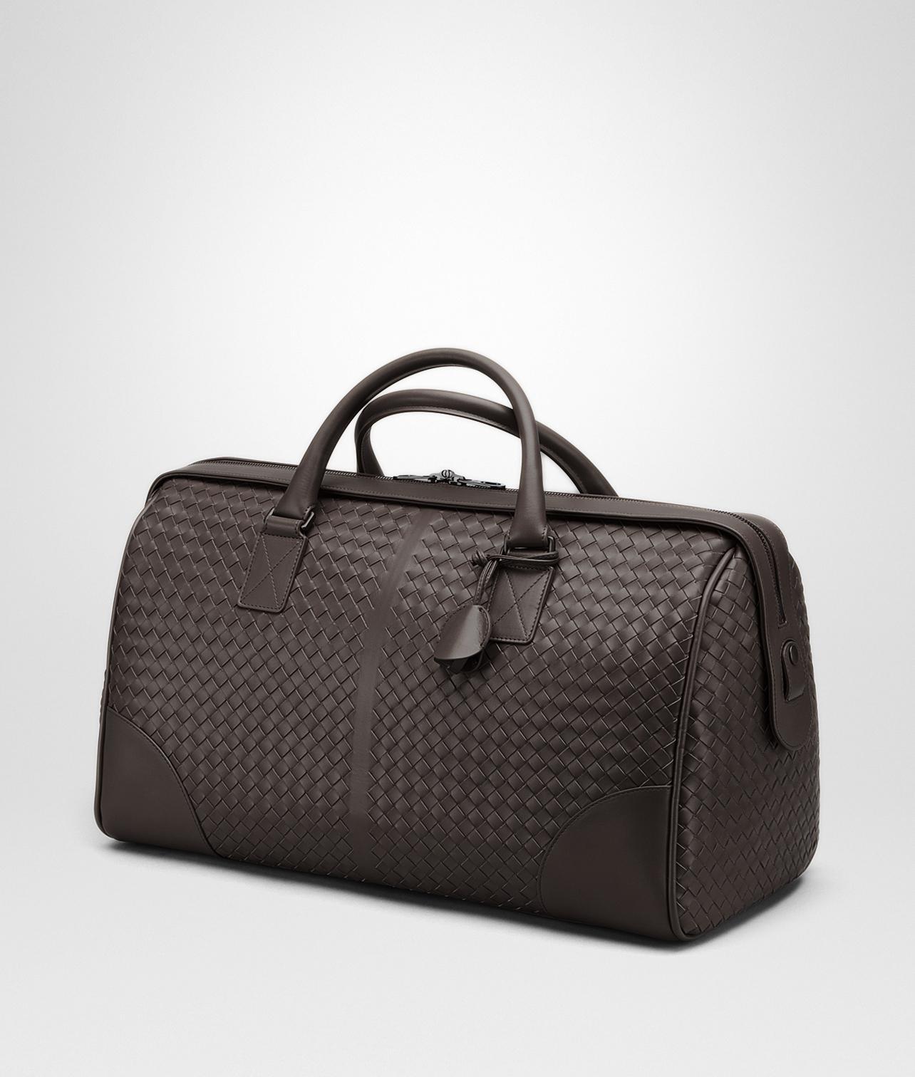 fa2643cd7263c Lyst - Bottega Veneta Medium Duffle Bag in Brown