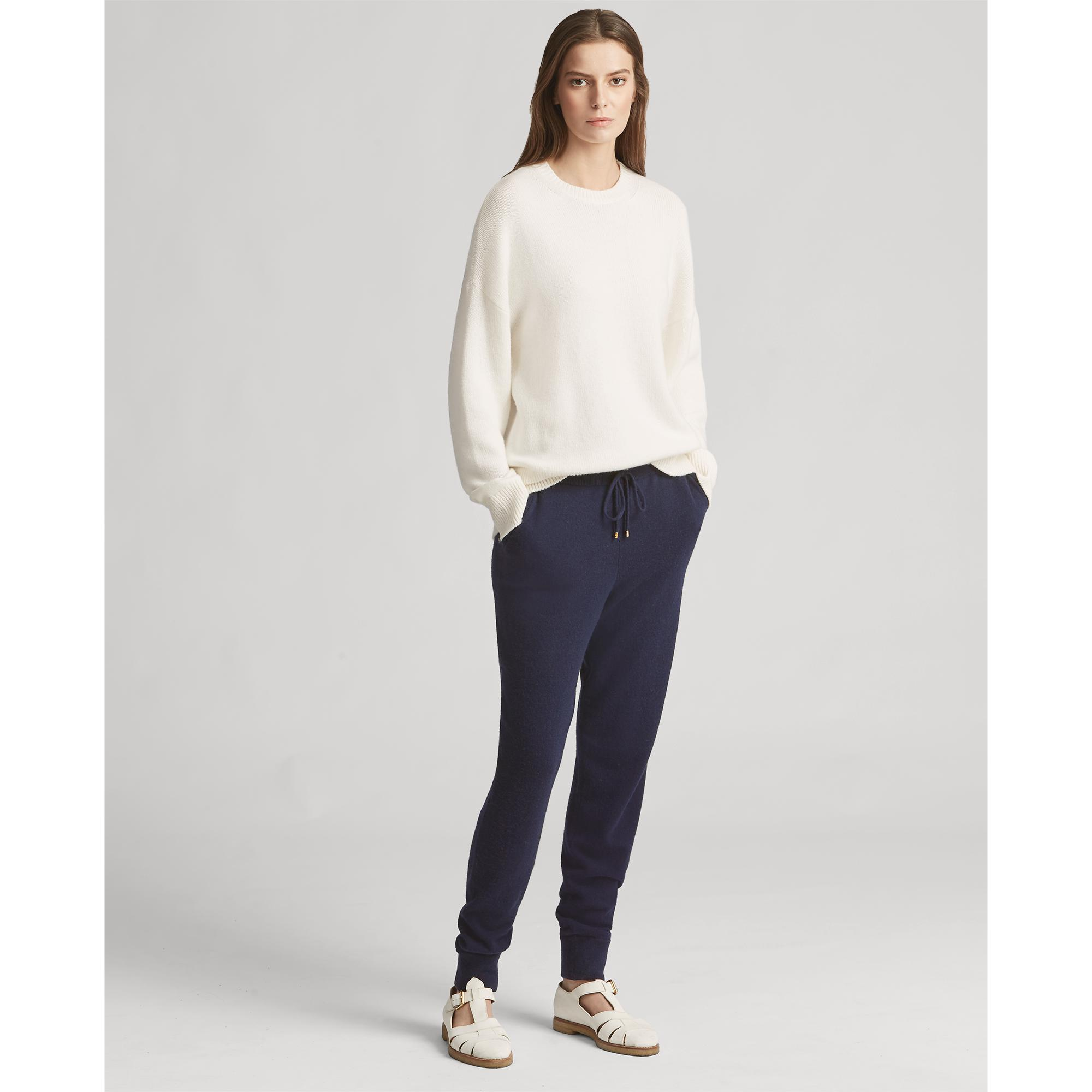 bd4cc3913f7fc Lyst - Ralph Lauren Collection Cashmere Jogger Pant in Blue