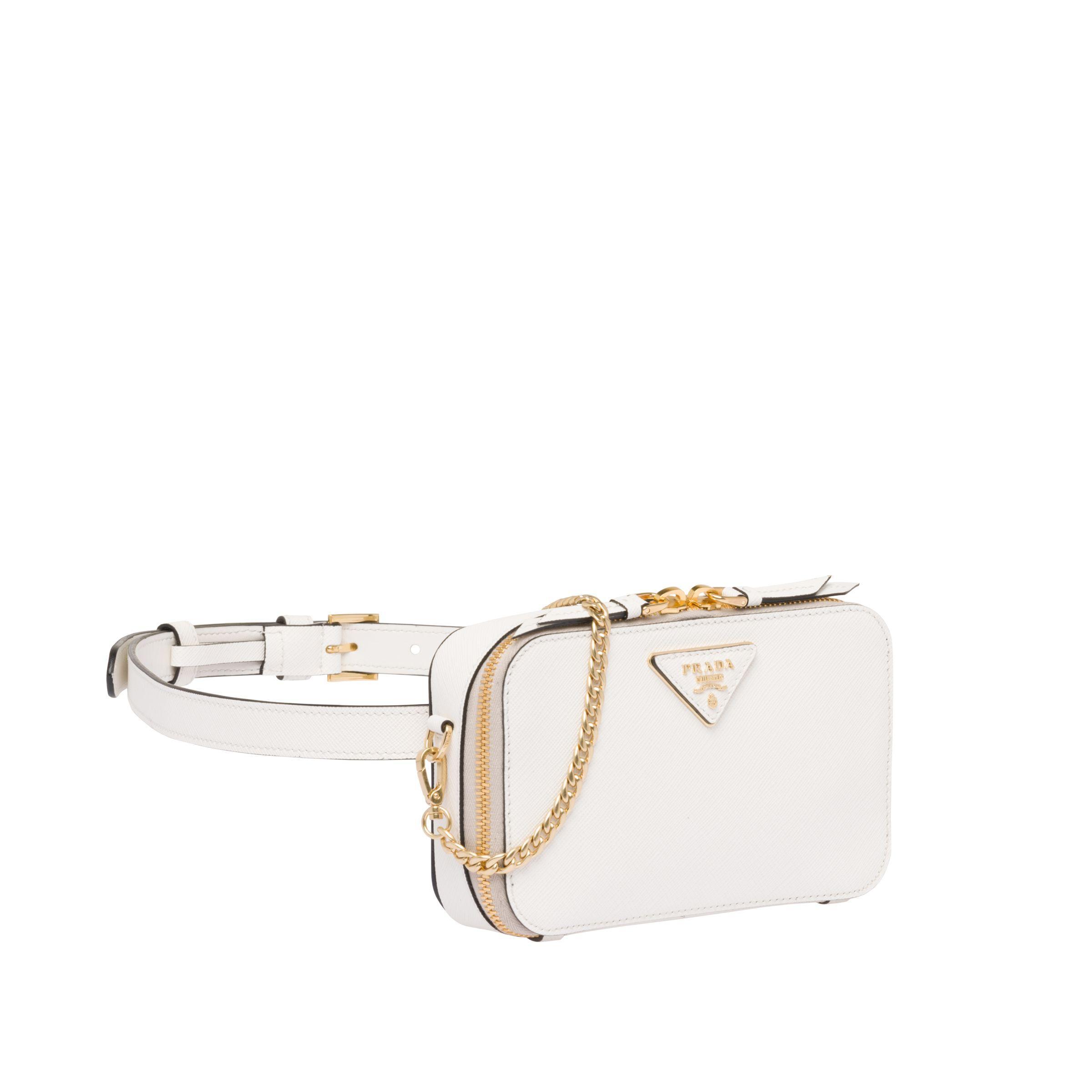 c35be05acb7474 Prada - Multicolor Odette Saffiano Leather Belt Bag - Lyst. View fullscreen