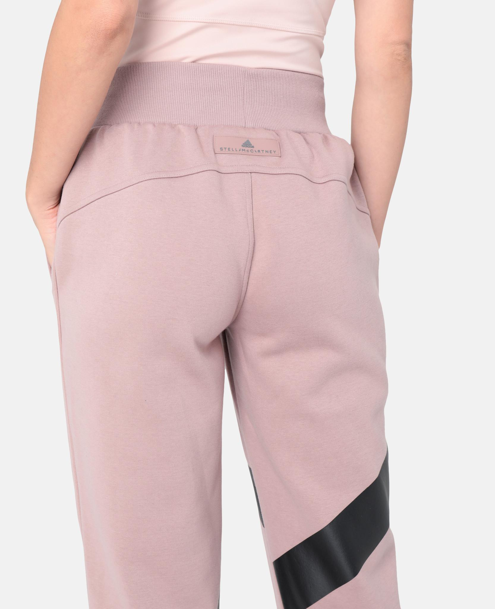 d745794727d97f adidas By Stella McCartney Pink Yoga Comfort Sweatpants in Pink - Lyst