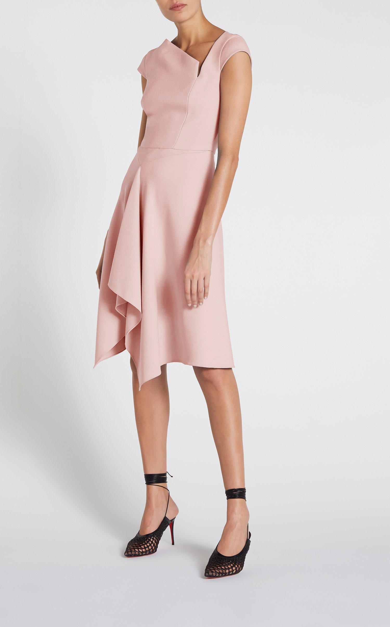 8d1895b3703 Roland Mouret. Women s Pink Augustus Dress.  1