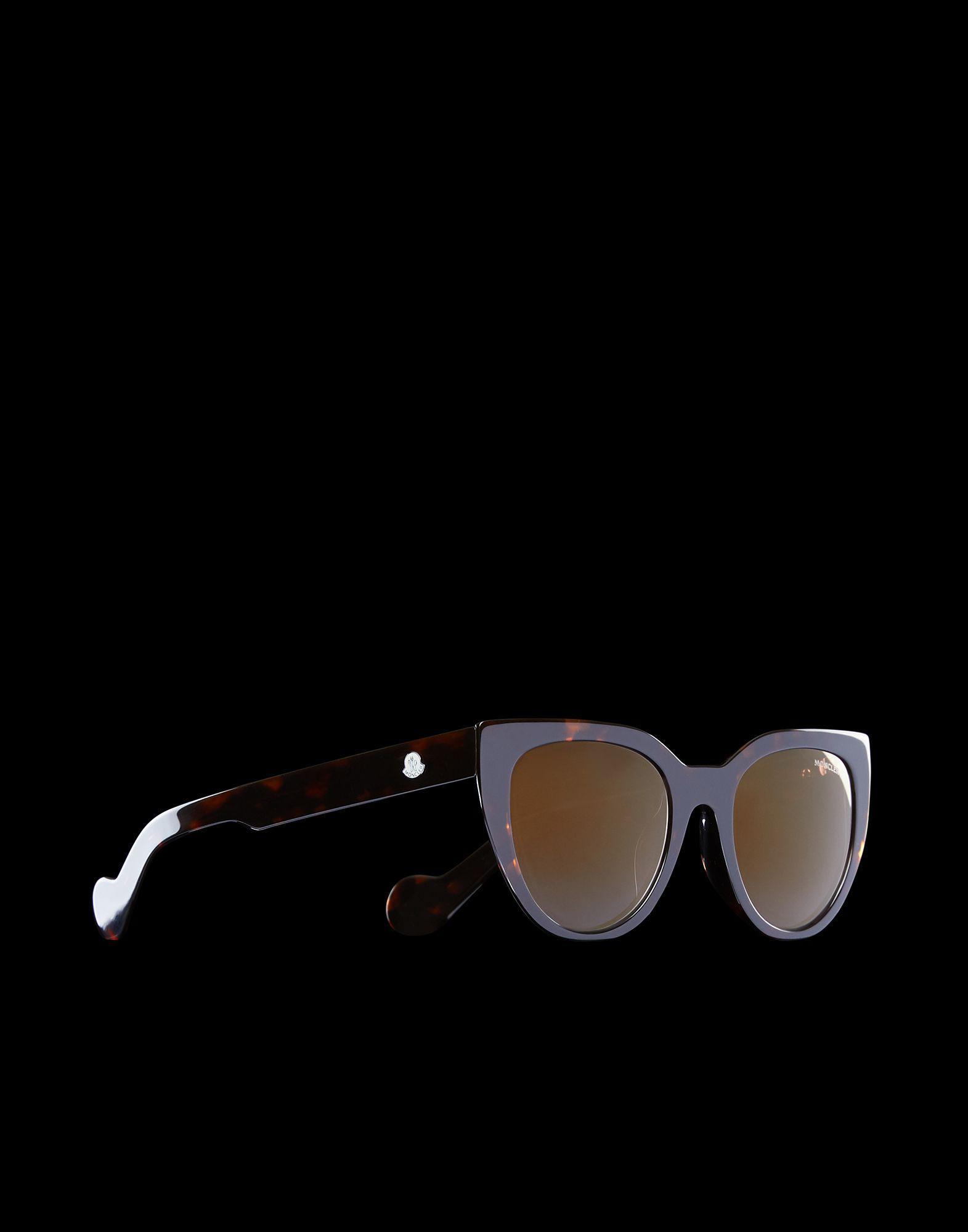 0c89f866c0 Lyst - Moncler Eyewear in Brown
