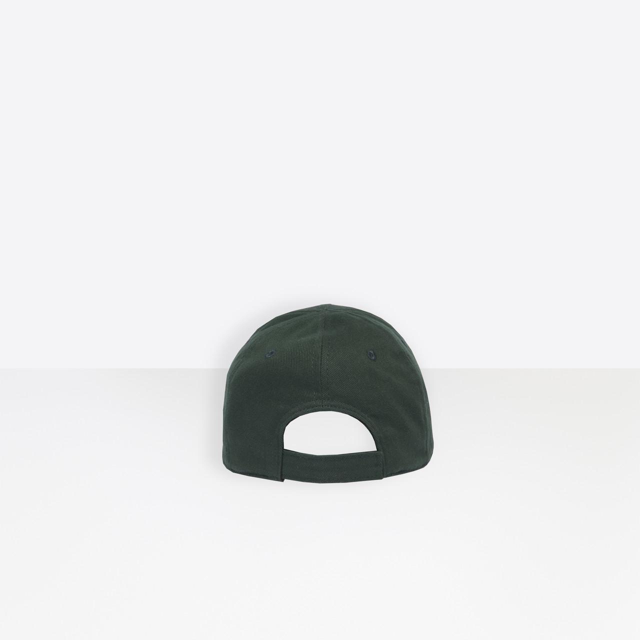 5a43c7f53c6 Lyst - Balenciaga Cap in Green