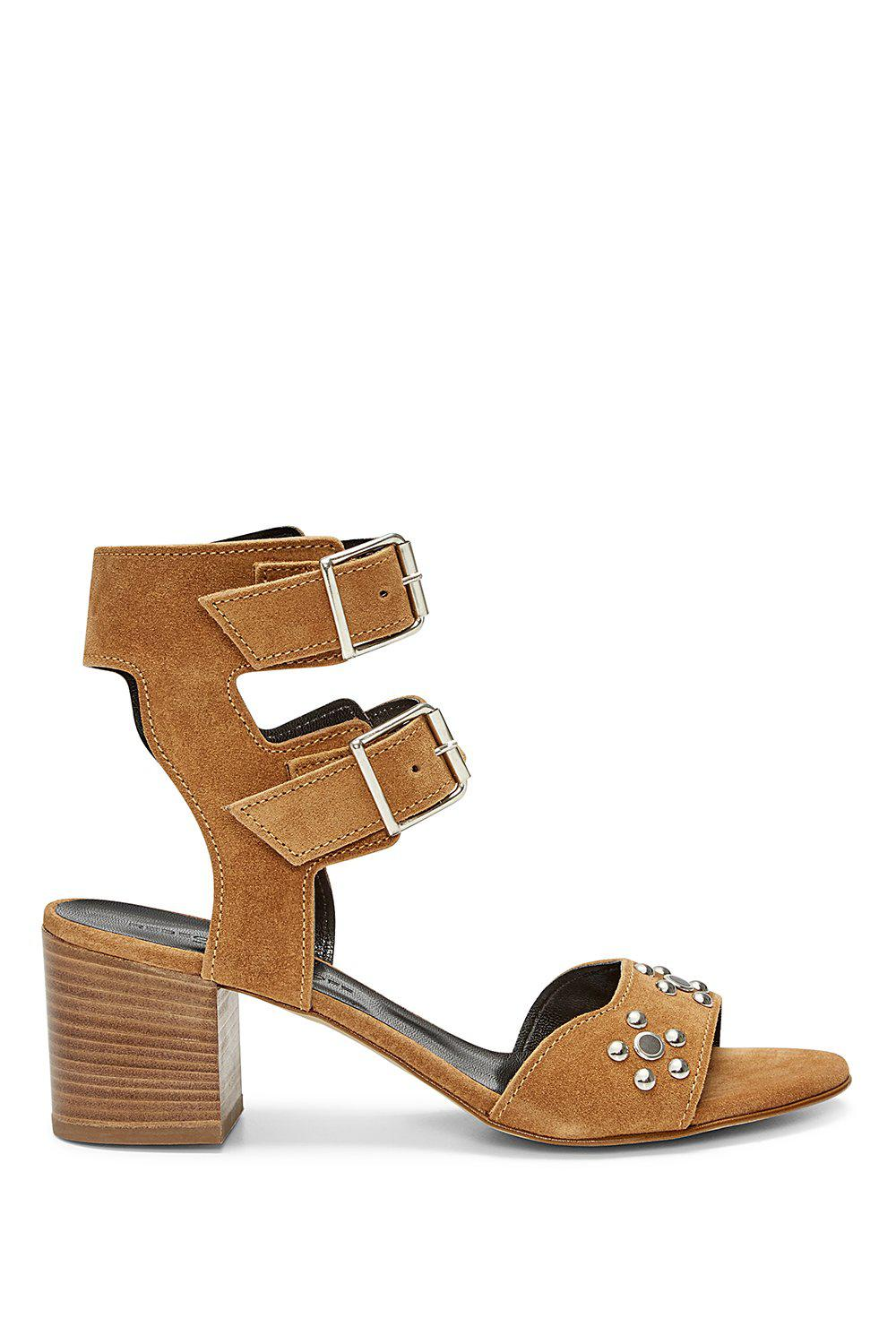 9915690a16cf Lyst - Rebecca Minkoff Sofia Sandal in Brown