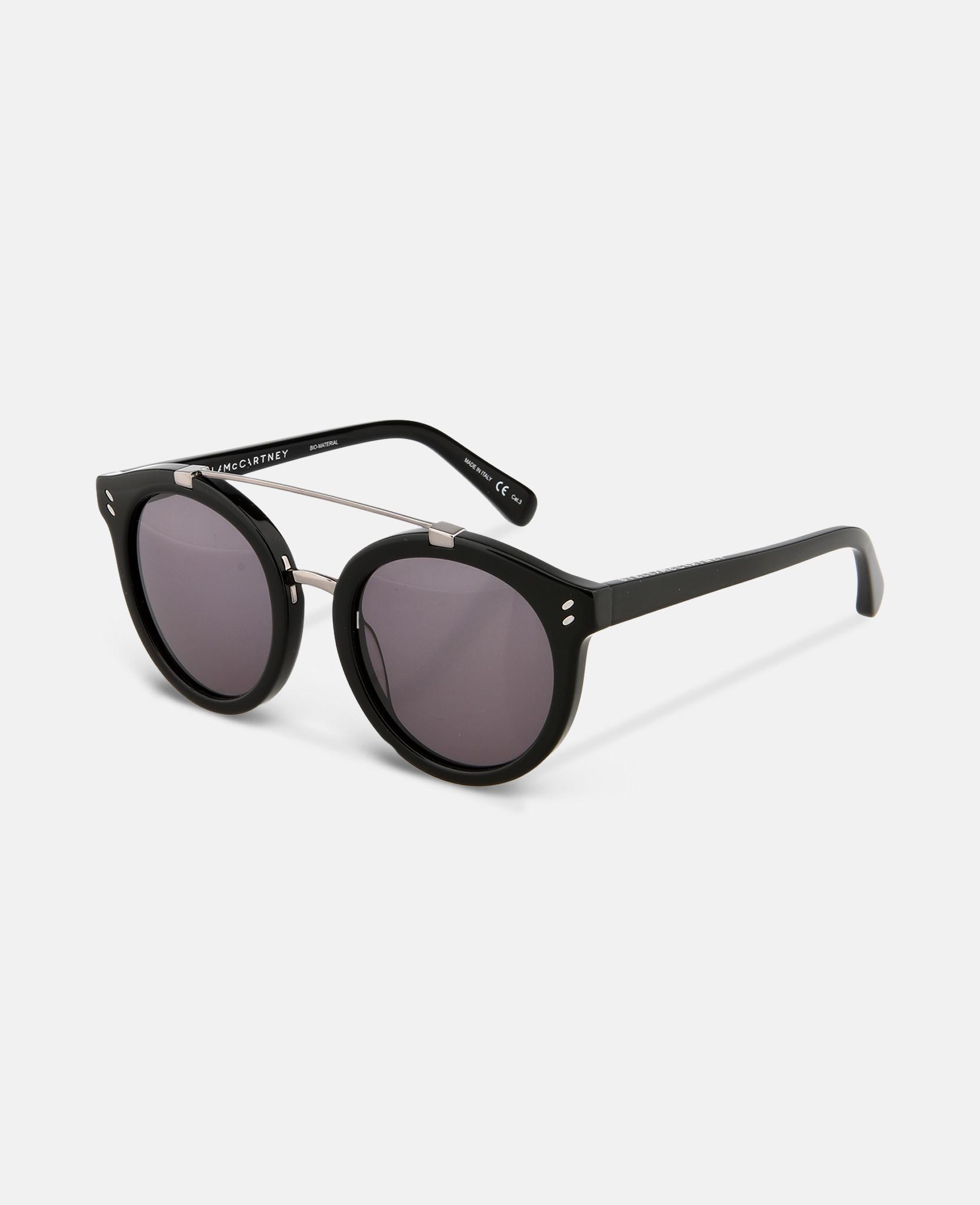 d63d8d93c9 Lyst - Stella Mccartney Black Square Sunglasses in Black