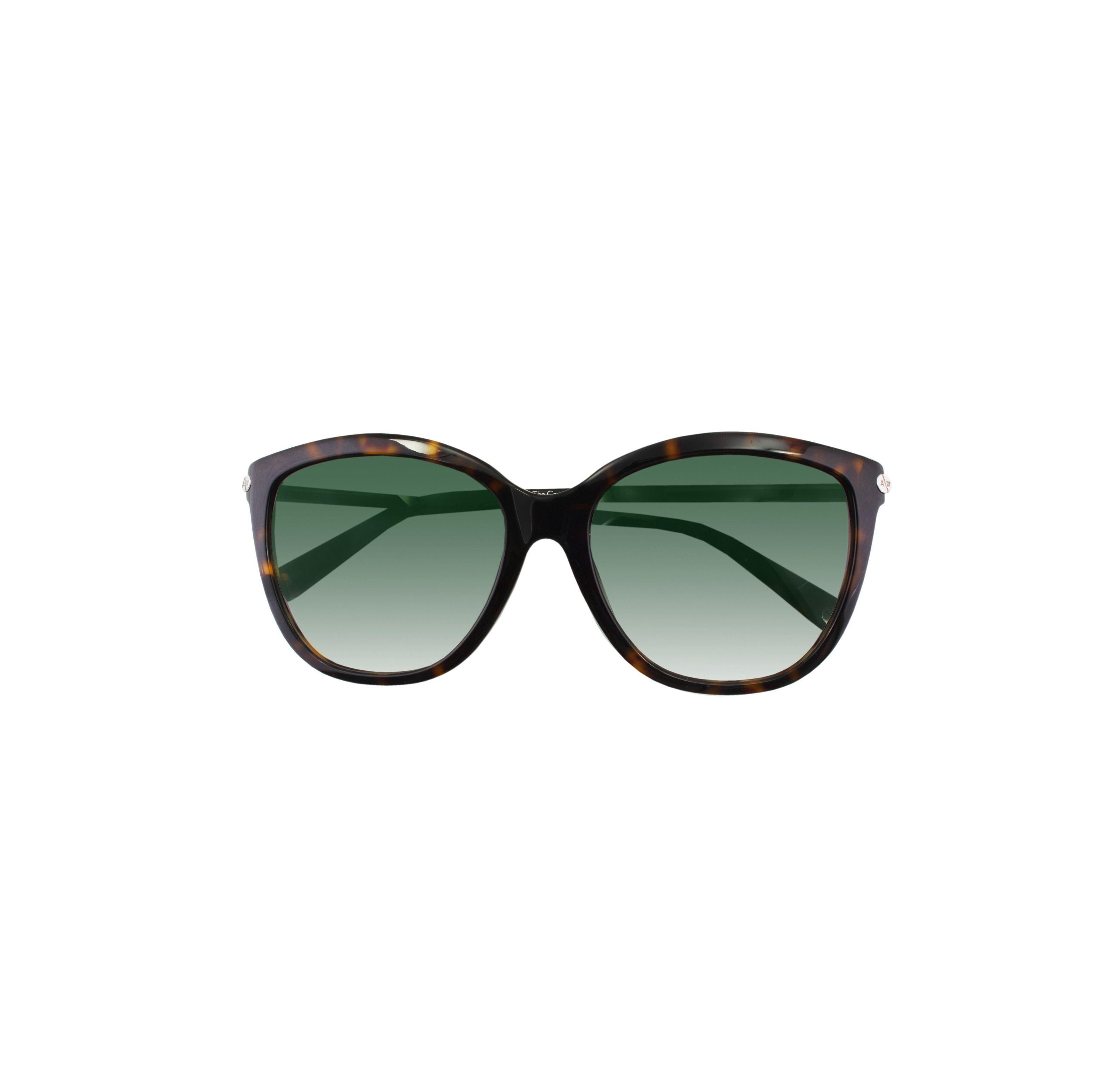 d9381ffb97 Lyst - Amanda Wakeley The Carnaby Tortoiseshell Sunglasses in Green