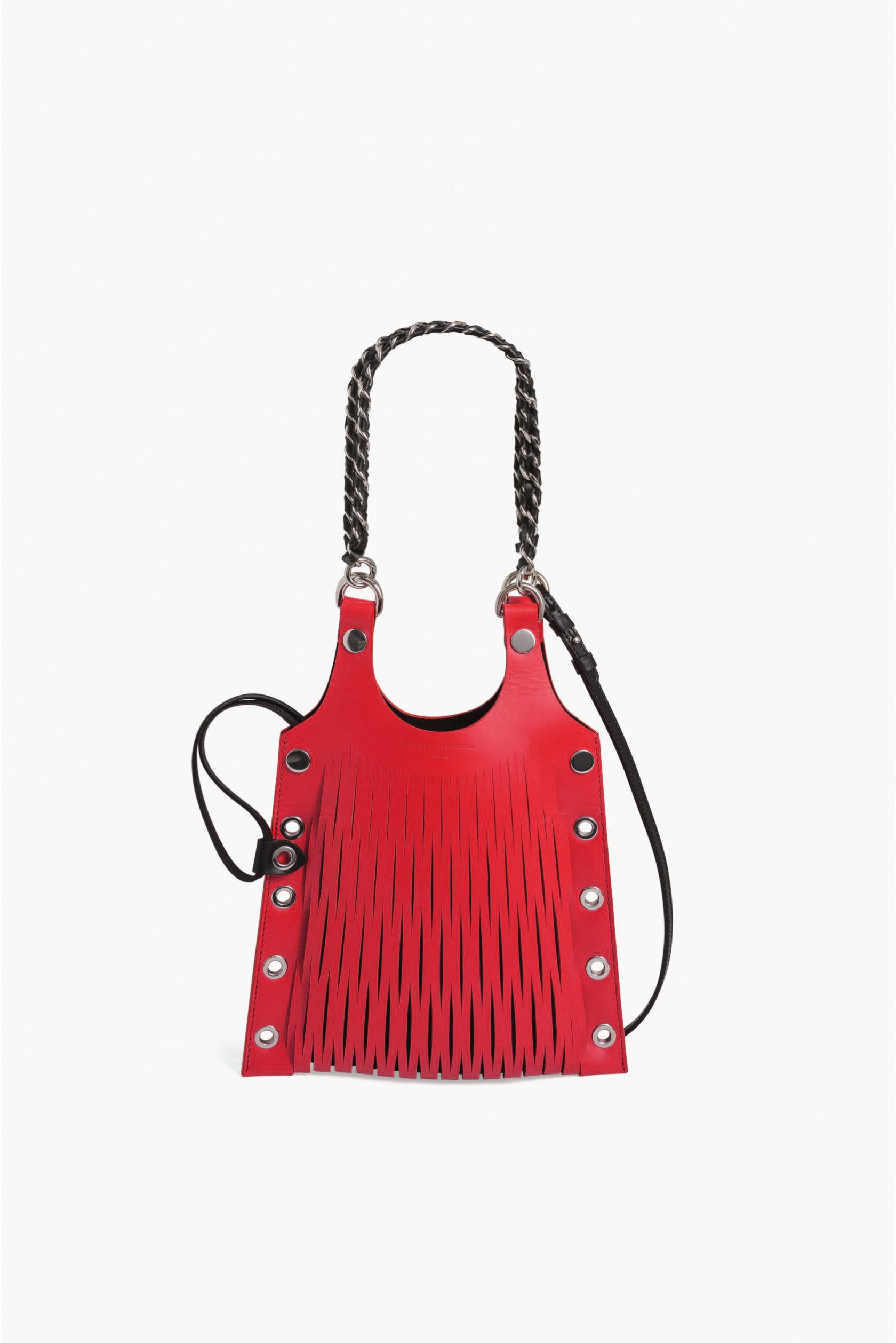 419a1db148 Sonia Rykiel. Women's Red Le Baltard Calfskin Mini Tote. $630 From Orchard  Mile