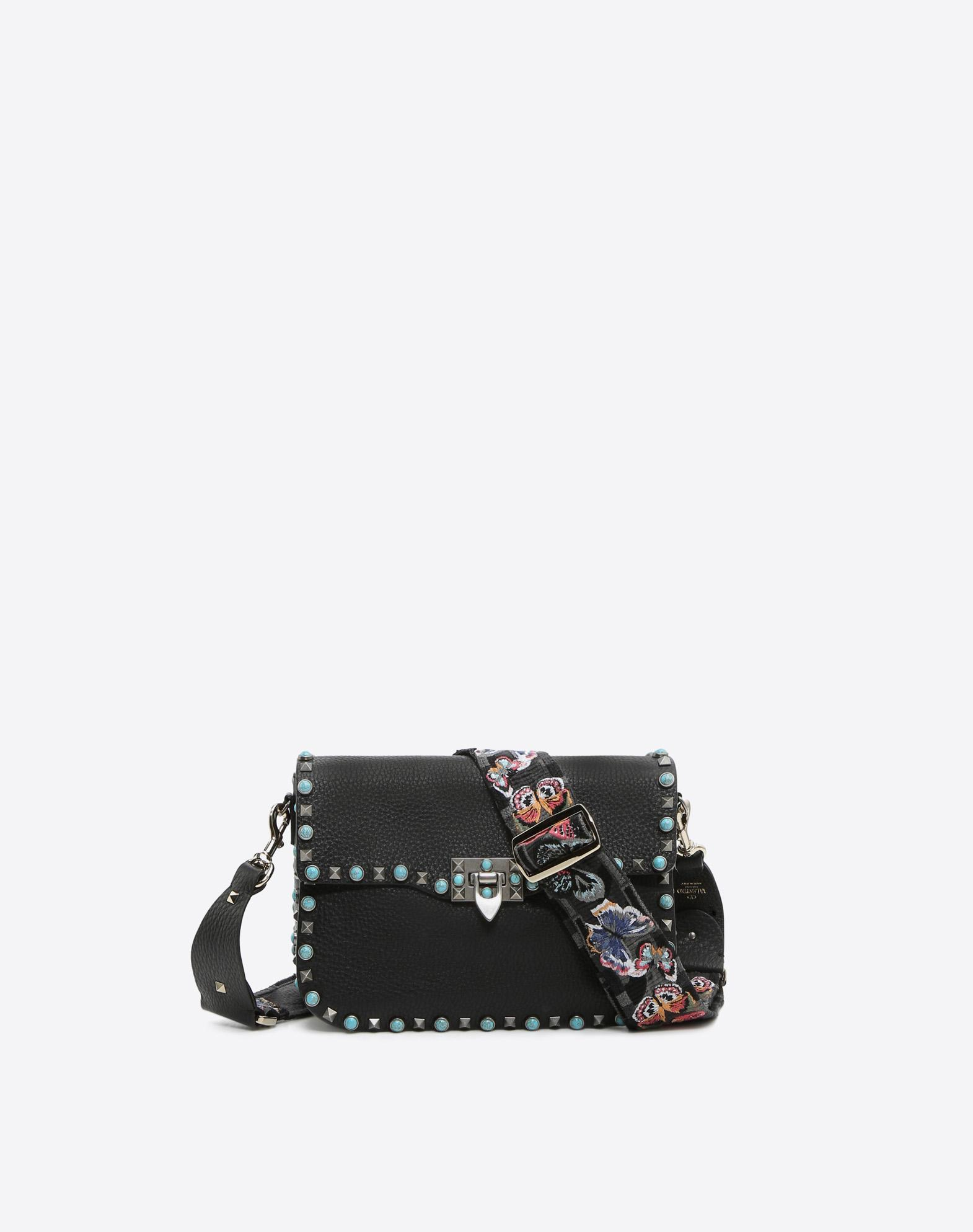 3247994d3f7 Valentino - Black Camubutterfly Guitar Strap - Lyst. View fullscreen