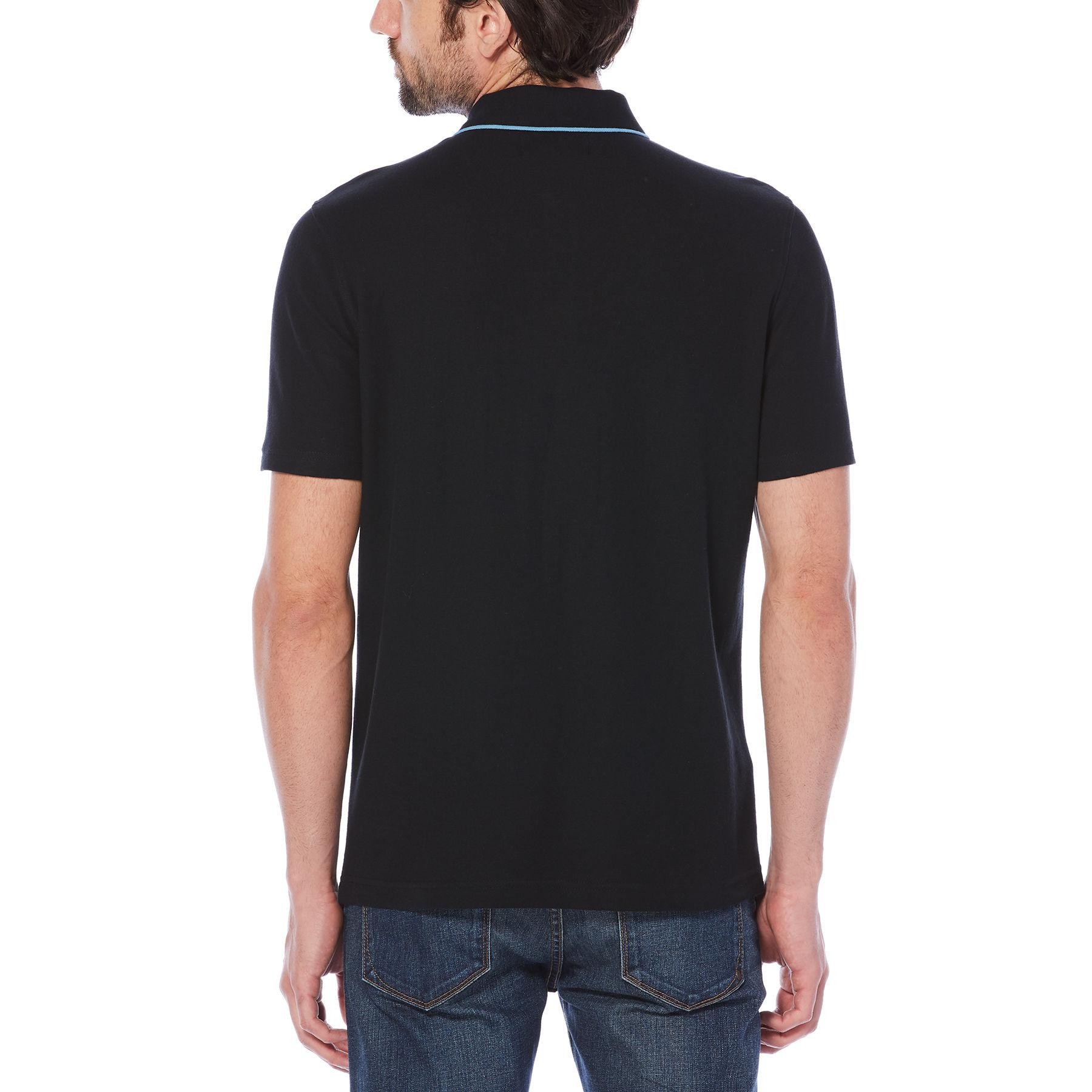 Original Penguin - Black Contrast Trim Basic Polo for Men - Lyst. View  fullscreen 3f1373317053e