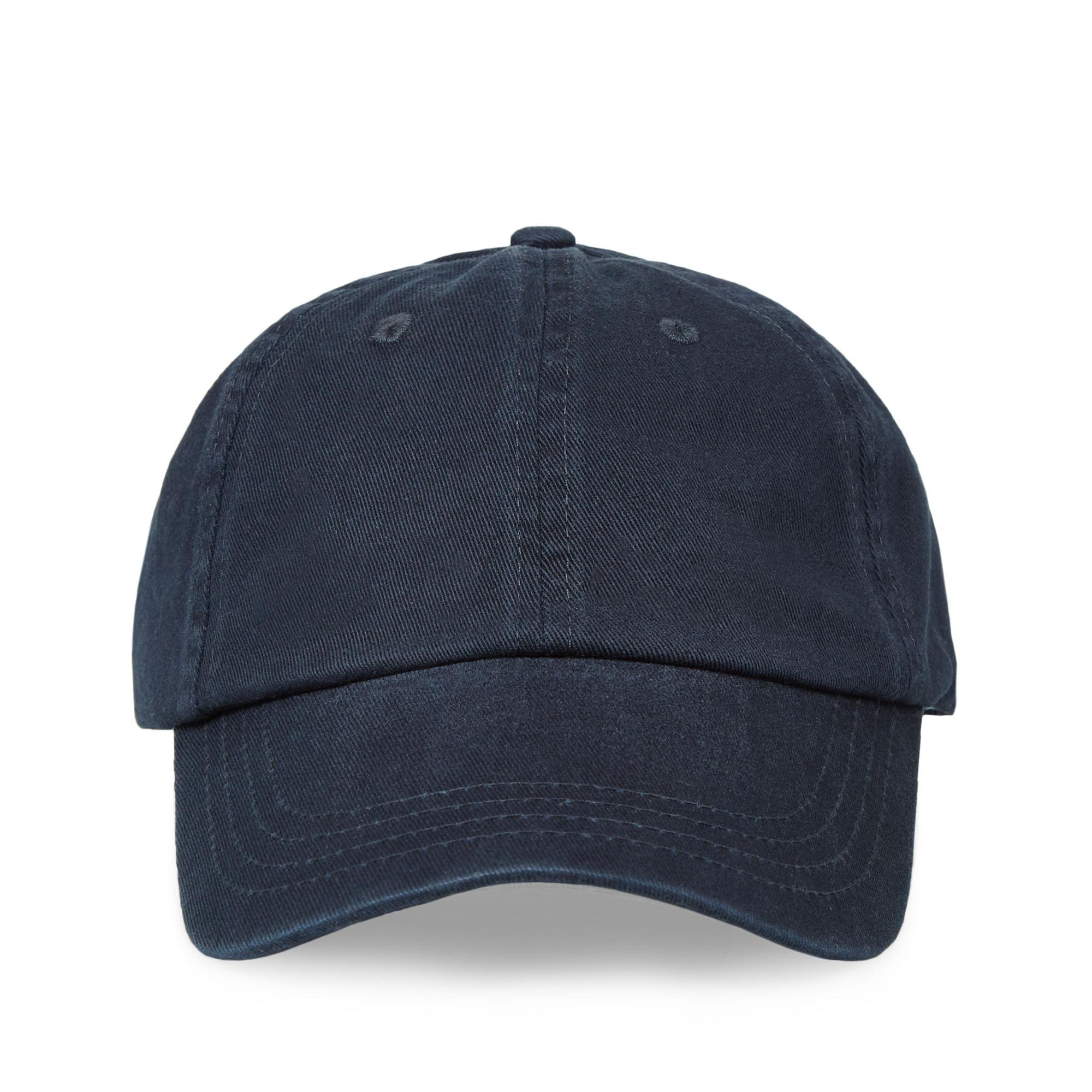 d404fcae171 Lyst - Orlebar Brown Beesley Navy Canvas Baseball Cap in Blue for Men