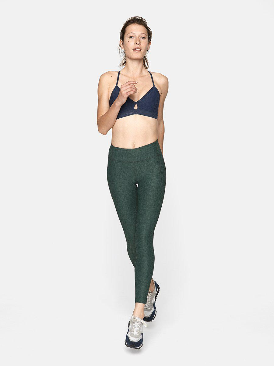 fb38dcbff034eb Lyst - Outdoor Voices 7 8 Warmup Leggings in Green