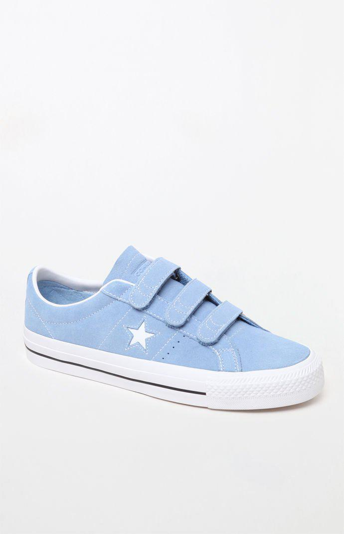 d0ed84af6ae Lyst - Converse One Star Pro 3v Suede Low Top Blue Shoes in Blue for Men