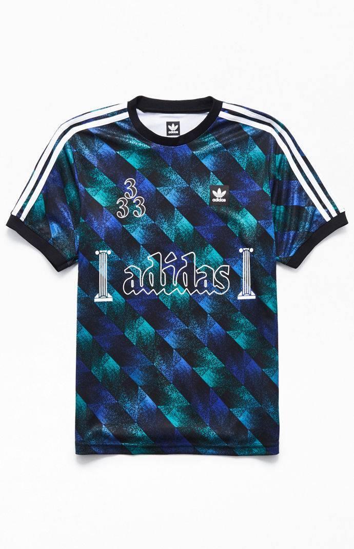 66ff98b11 Lyst - adidas Aop Soccer Jersey in Blue for Men