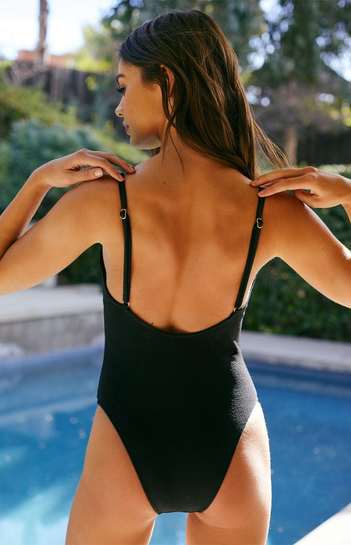 58421f08208 MINKPINK - Black Loren Ring One Piece Swimsuit - Lyst. View fullscreen