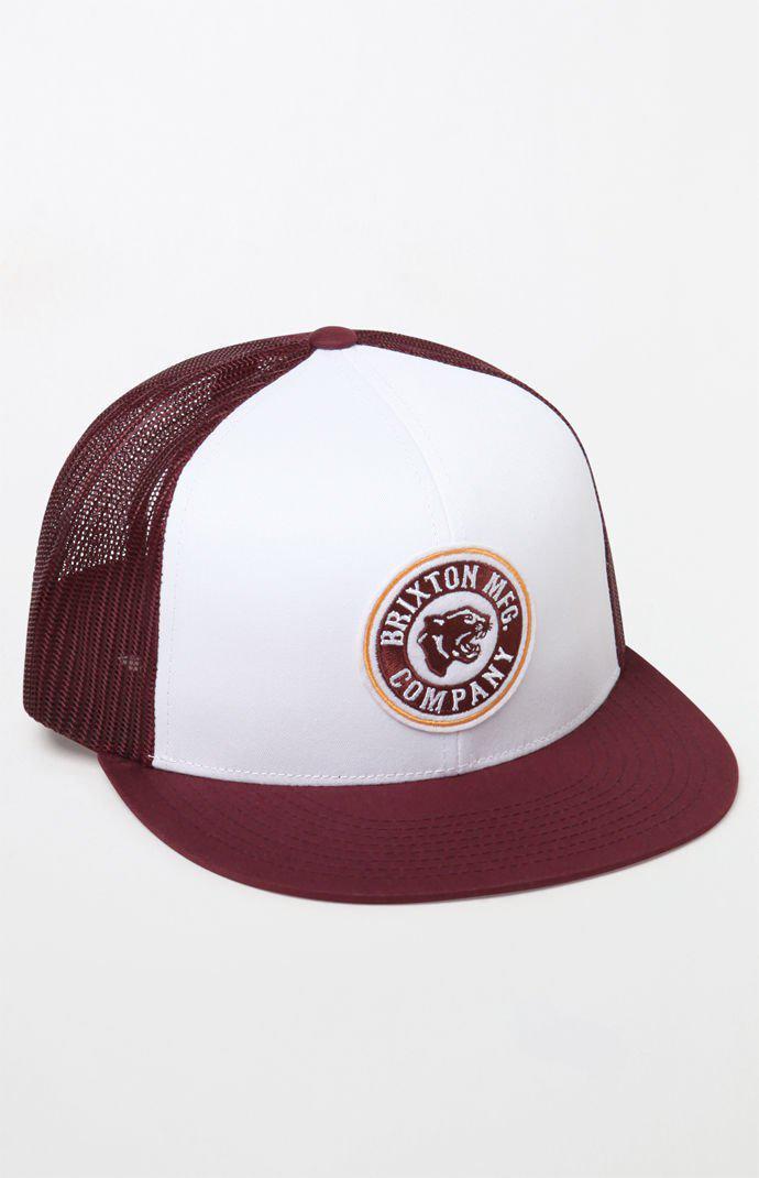 98b64ff0dfd ebay lyst brixton forte mp mesh snapback trucker hat for men 4a74f 47e62