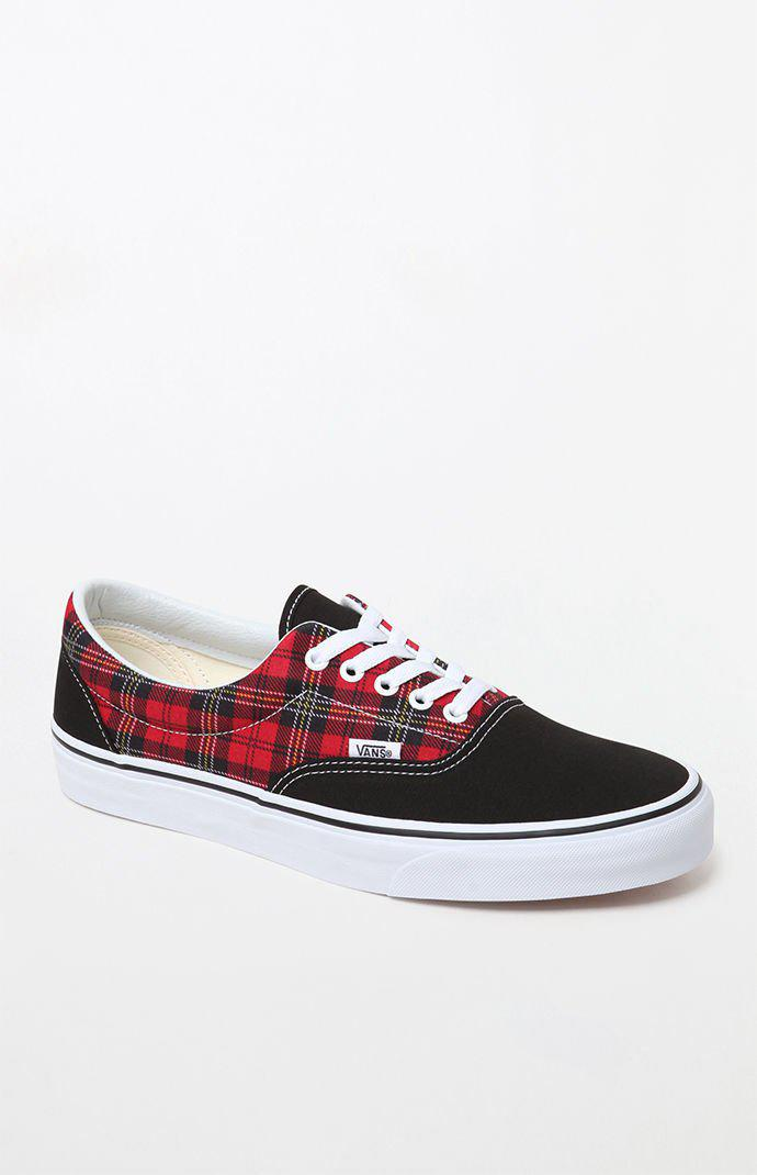 f72b3e7f400 Lyst - Vans Era Plaid Shoes in Red for Men - Save 30%