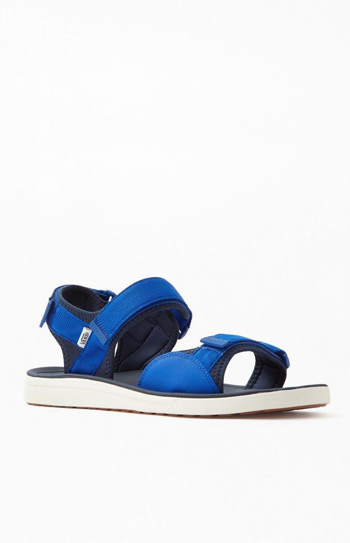 Vans - Blue Ultrarange Tri-lock Sandals for Men - Lyst. View fullscreen 3d6f181ac