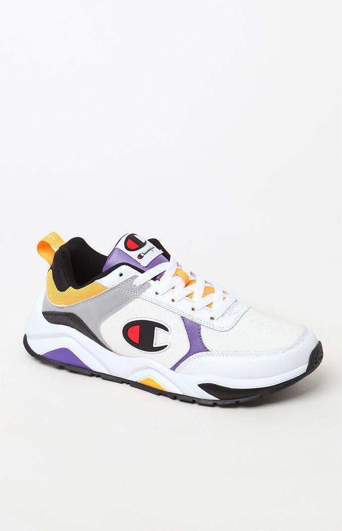 f837e5be1 Champion - 93eighteen White Multi Block Shoes for Men - Lyst. View  fullscreen