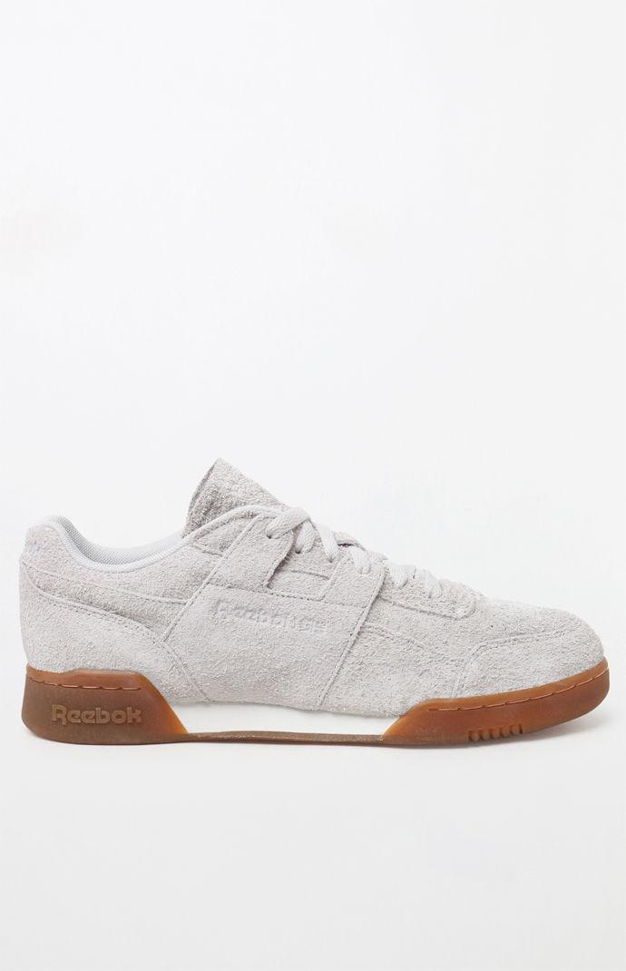 9974d1f7010 Lyst - Reebok Workout Plus Mu Suede Shoes in White for Men
