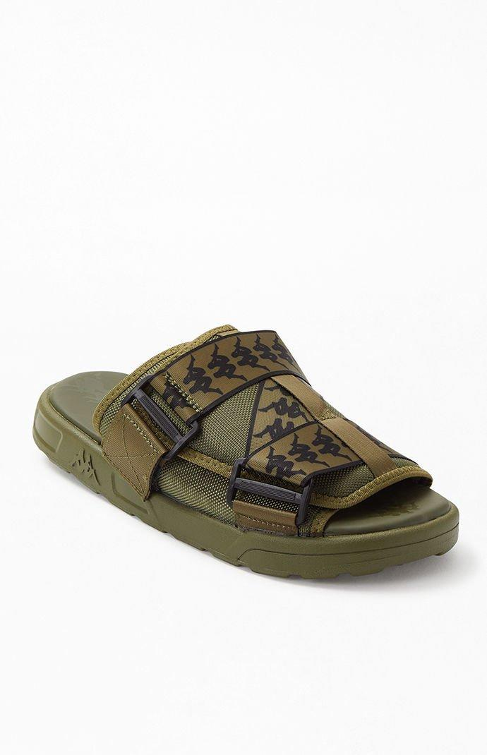 8a9c3024387c Lyst - Kappa 222 Banda Mitel 1 Sandals in Green for Men