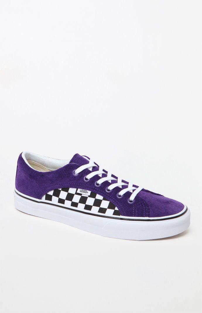 52d41531f388 Lyst - Vans Lampin Purple   Checkerboard Shoes in Purple for Men