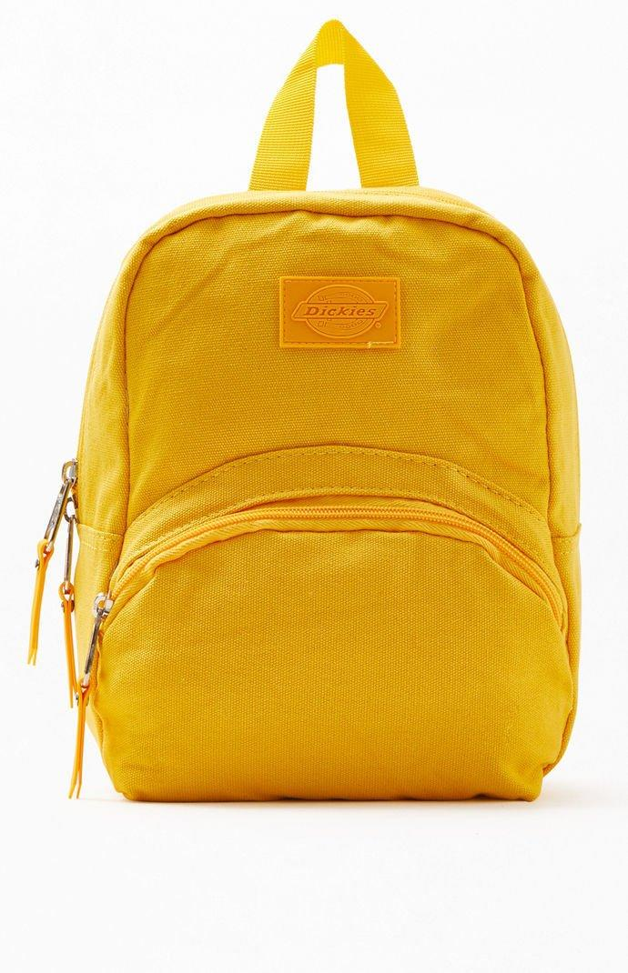 b5ade26a65f6a5 Lyst - Dickies Mustard Canvas Mini Backpack in Yellow