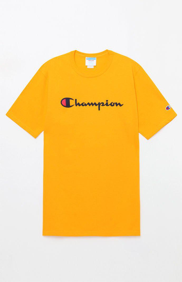 651812086cf9 Champion - White Patriotic Script T-shirt for Men - Lyst. View fullscreen