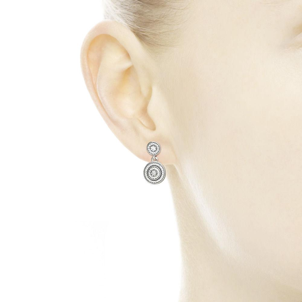 f89dc1029 Pandora Radiant Elegance Drop Earrings Silver [nhsalumni.org]