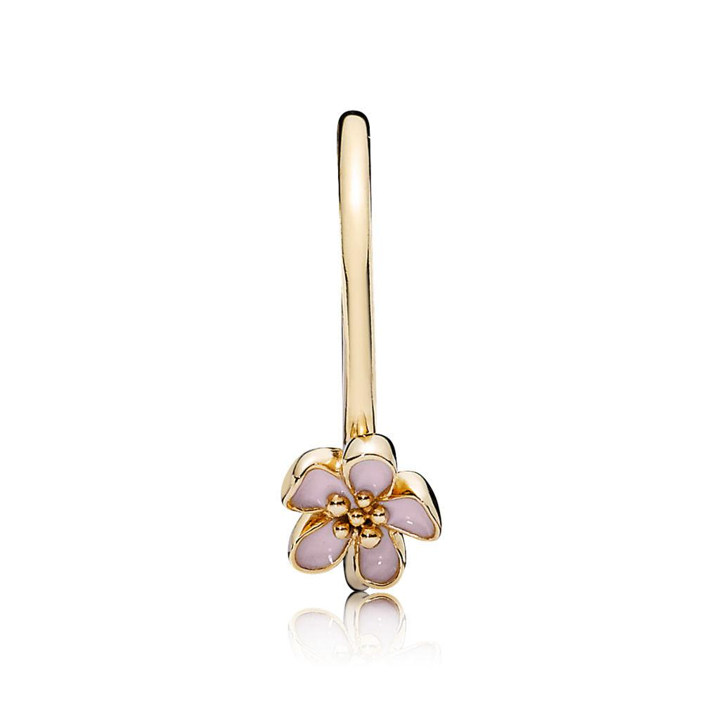 Pandora Pink Cherry Blossom Flower Ring In Metallic Lyst