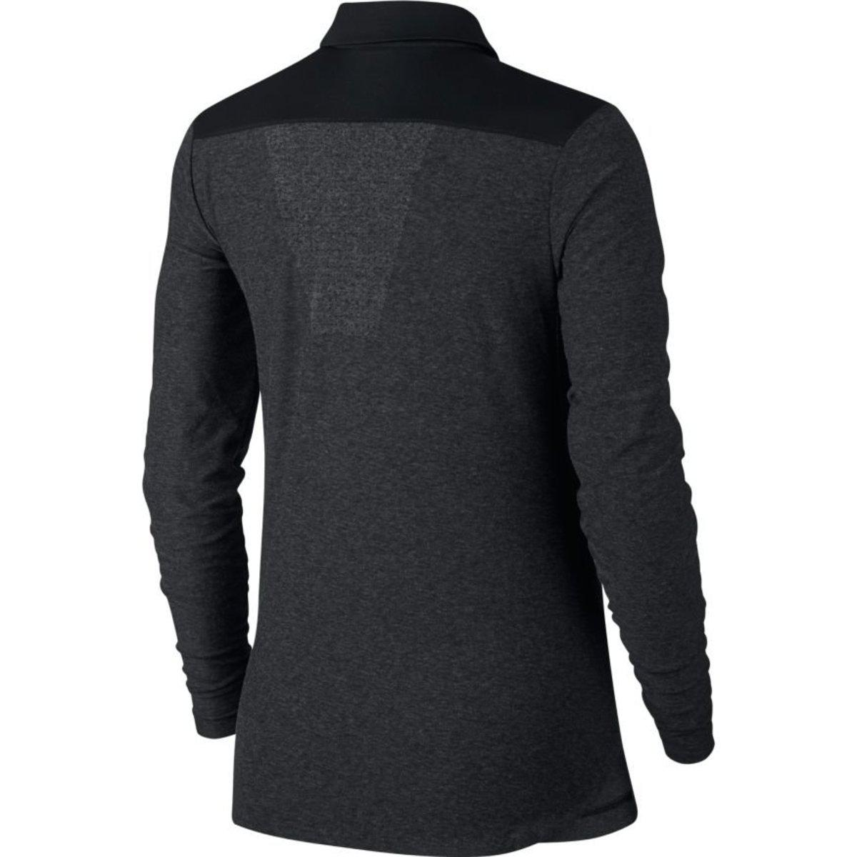 Lyst Nike Zonal Cooling Long Sleeve Golf Polo Shirt In Black