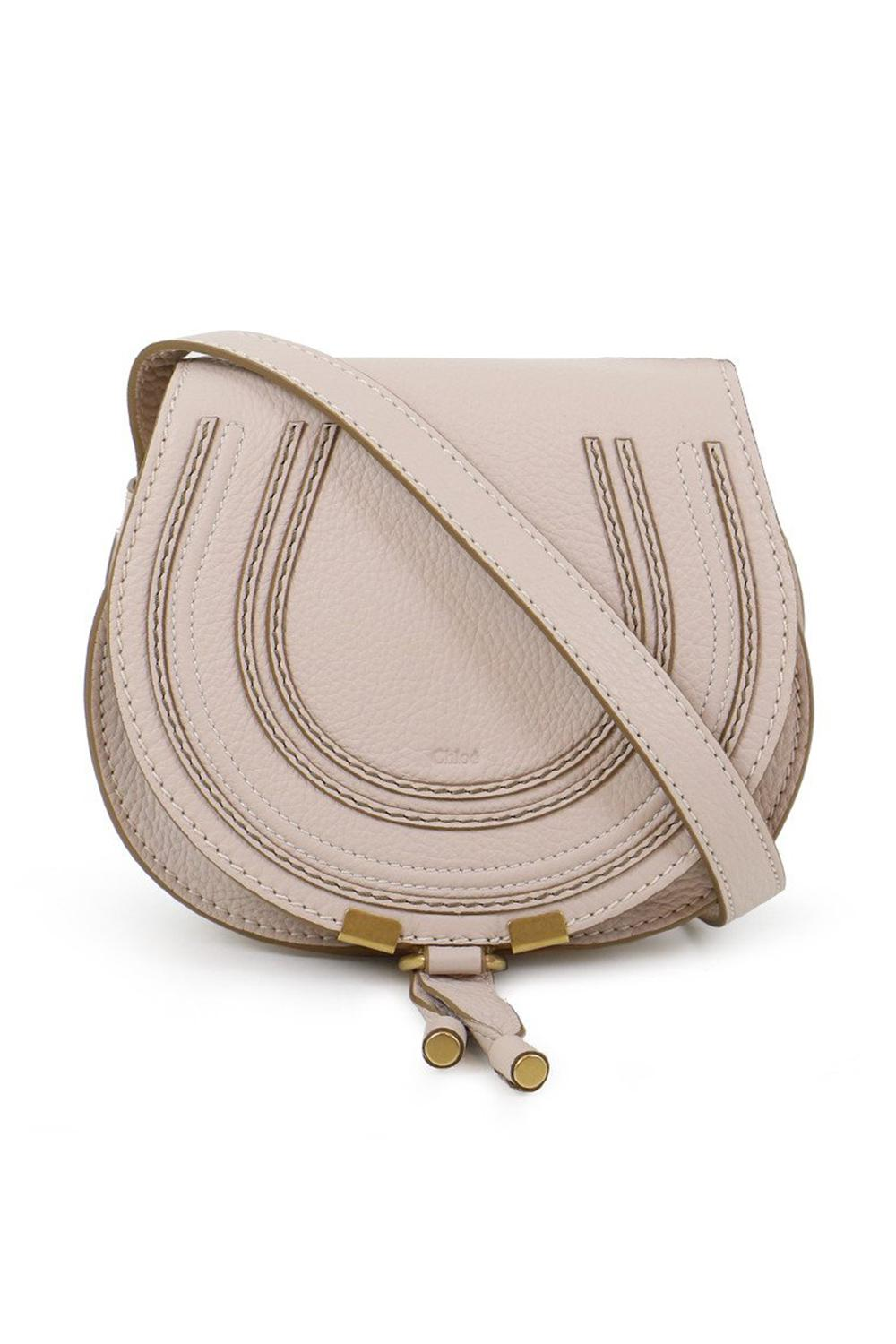 8a98dc0eae Chloé Marcie Small Bag Abstract White in White - Lyst