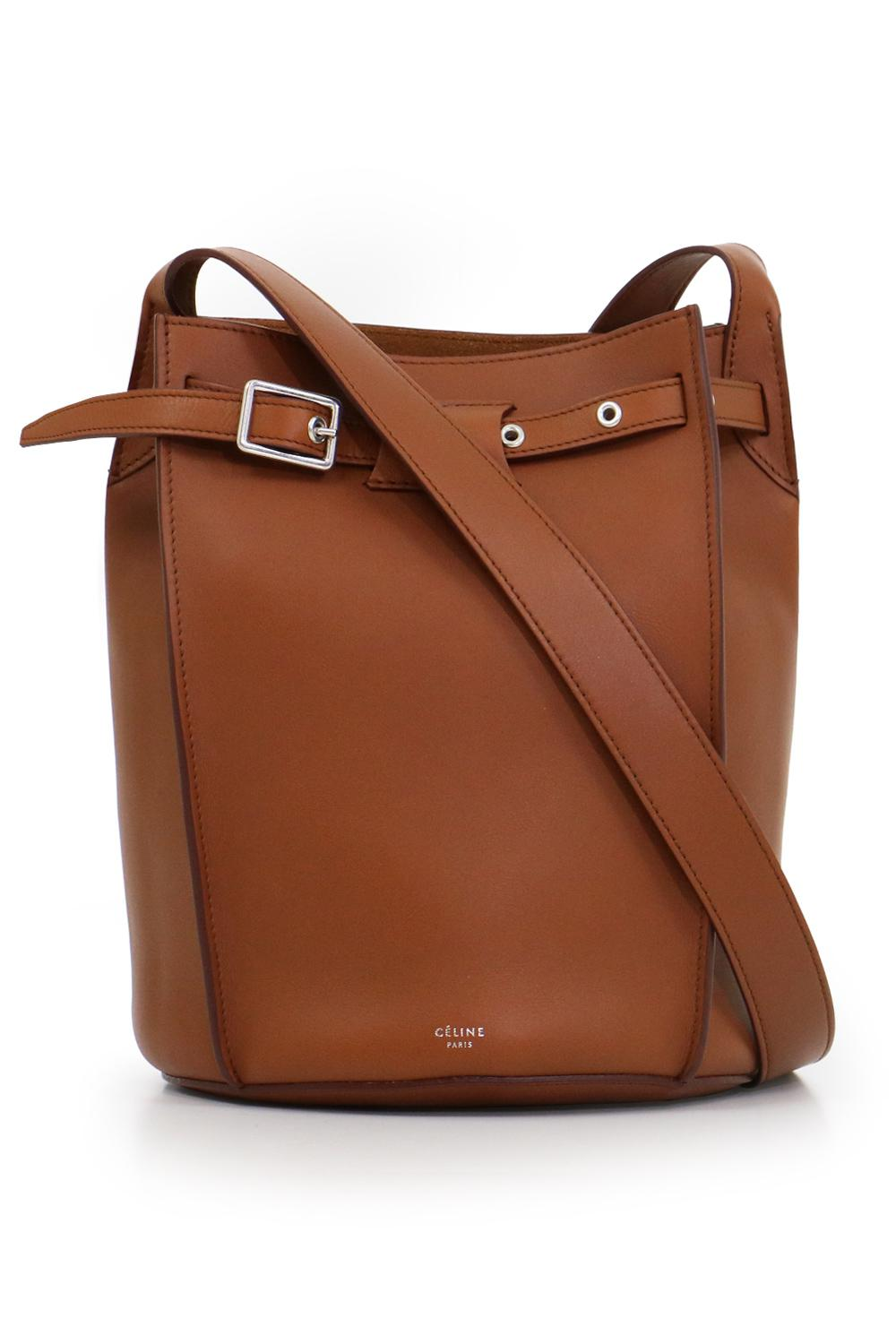 Lyst - Céline Big Bag Bucket Bag With Long Strap Tan in Brown 4cc77a45dae71